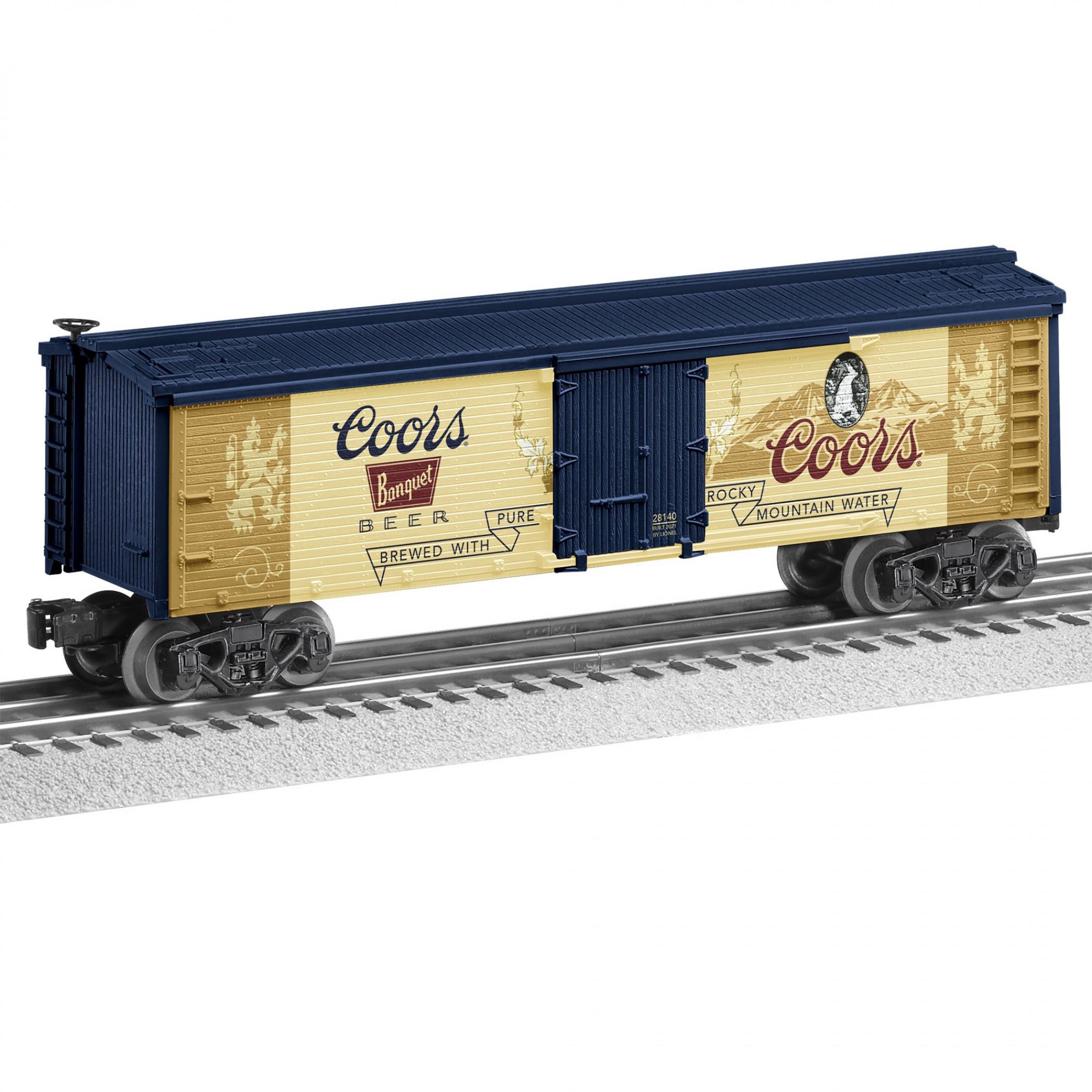Vintage Coors Banquet Reefer Train Car