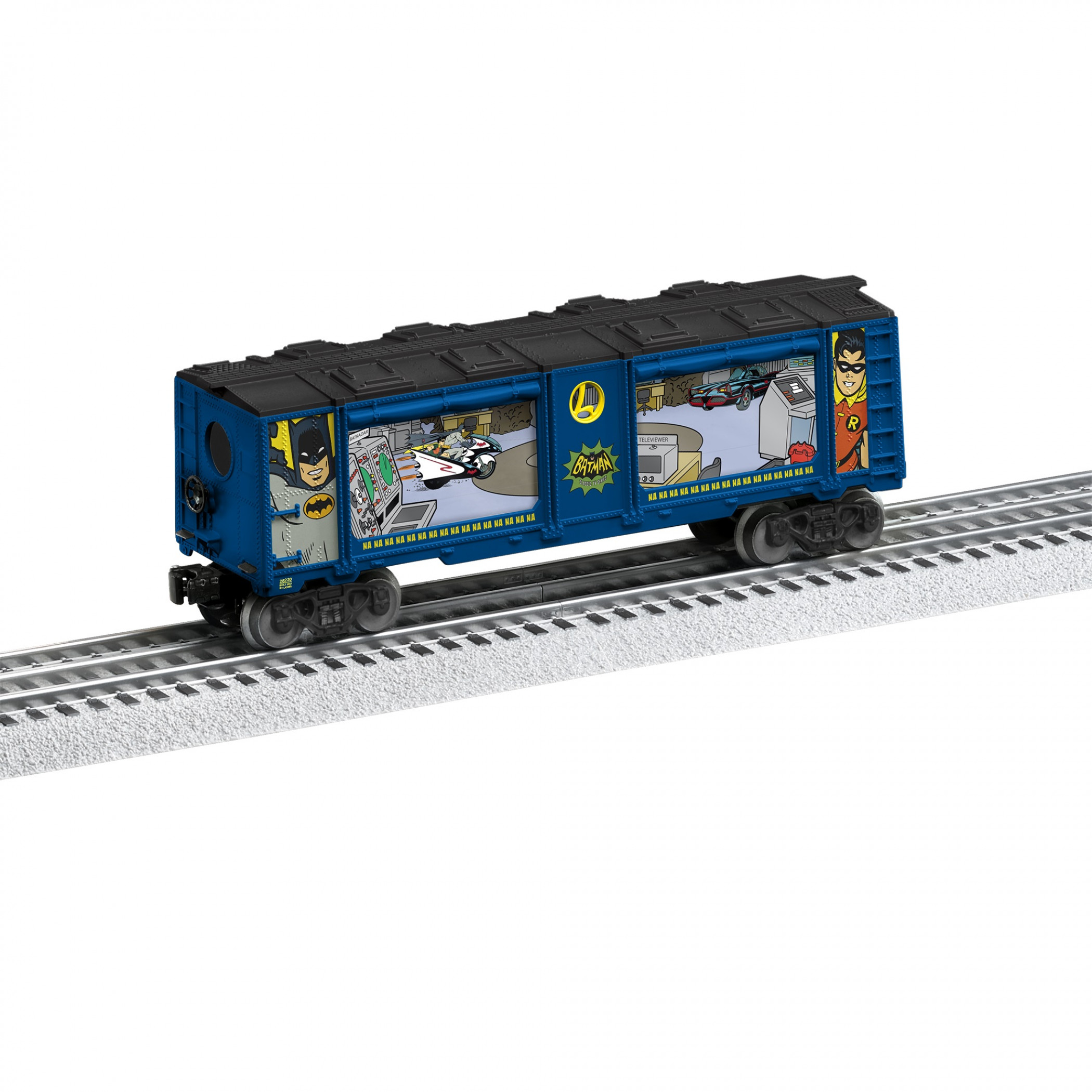 Batman Aquarium Lionel Train Car