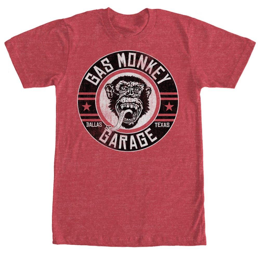 Gas Monkey Garage Ground Rider Red T-Shirt
