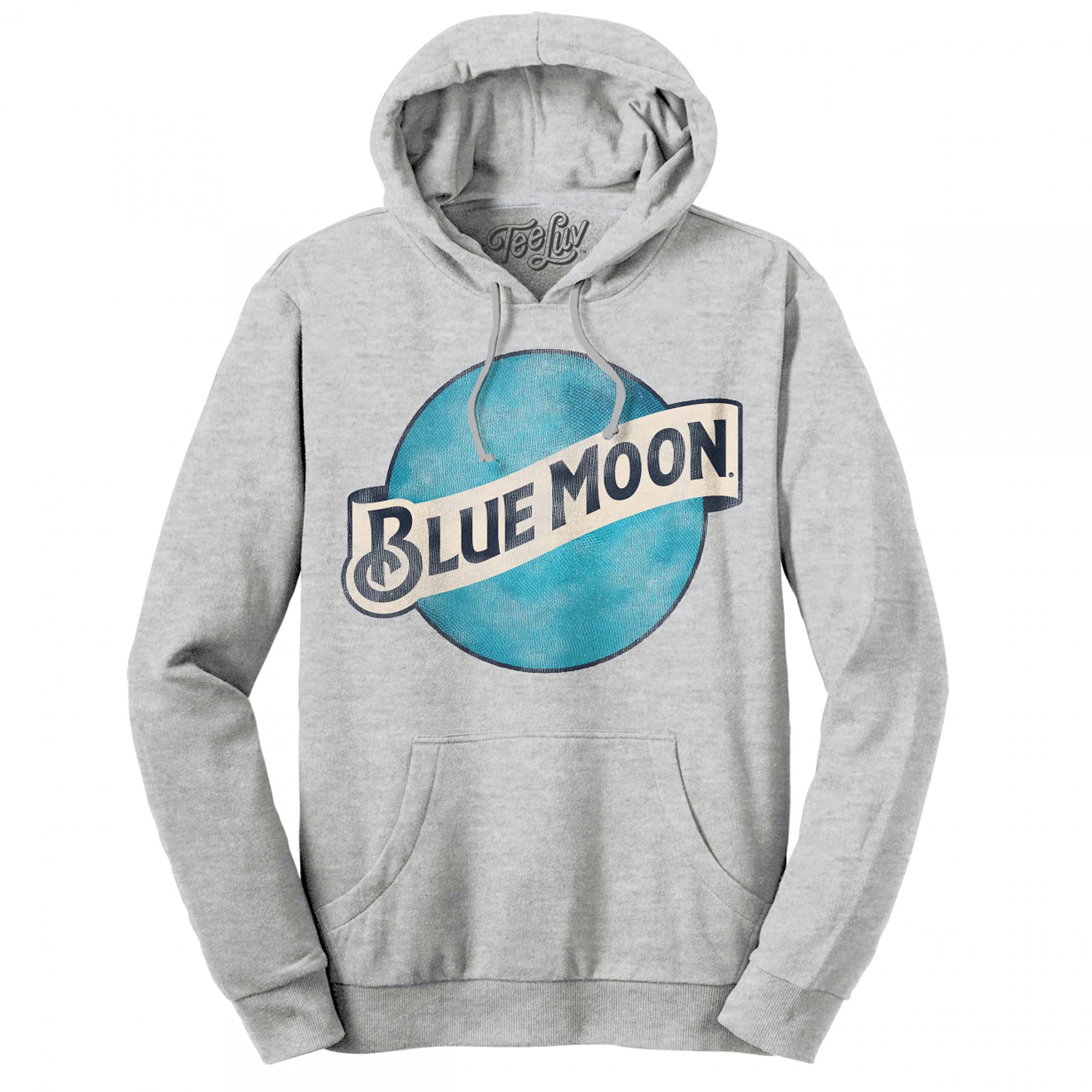 Blue Moon Beer Classic Logo Hoodie