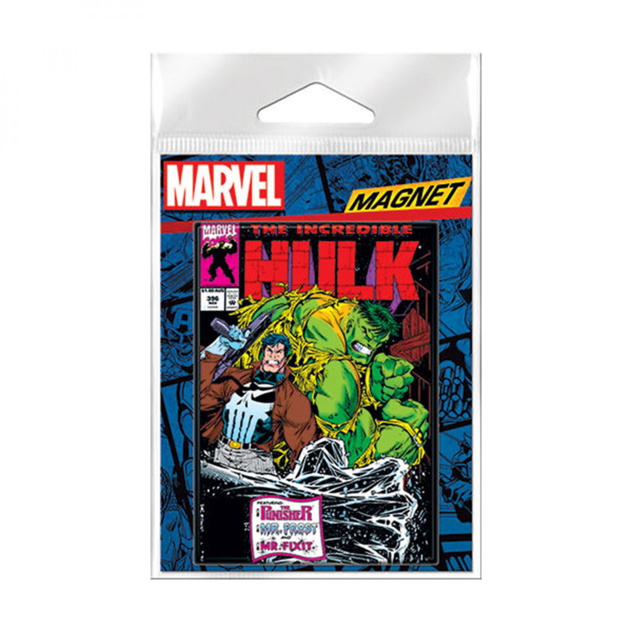 The Incredible Hulk Comic Cover Carded Magnet