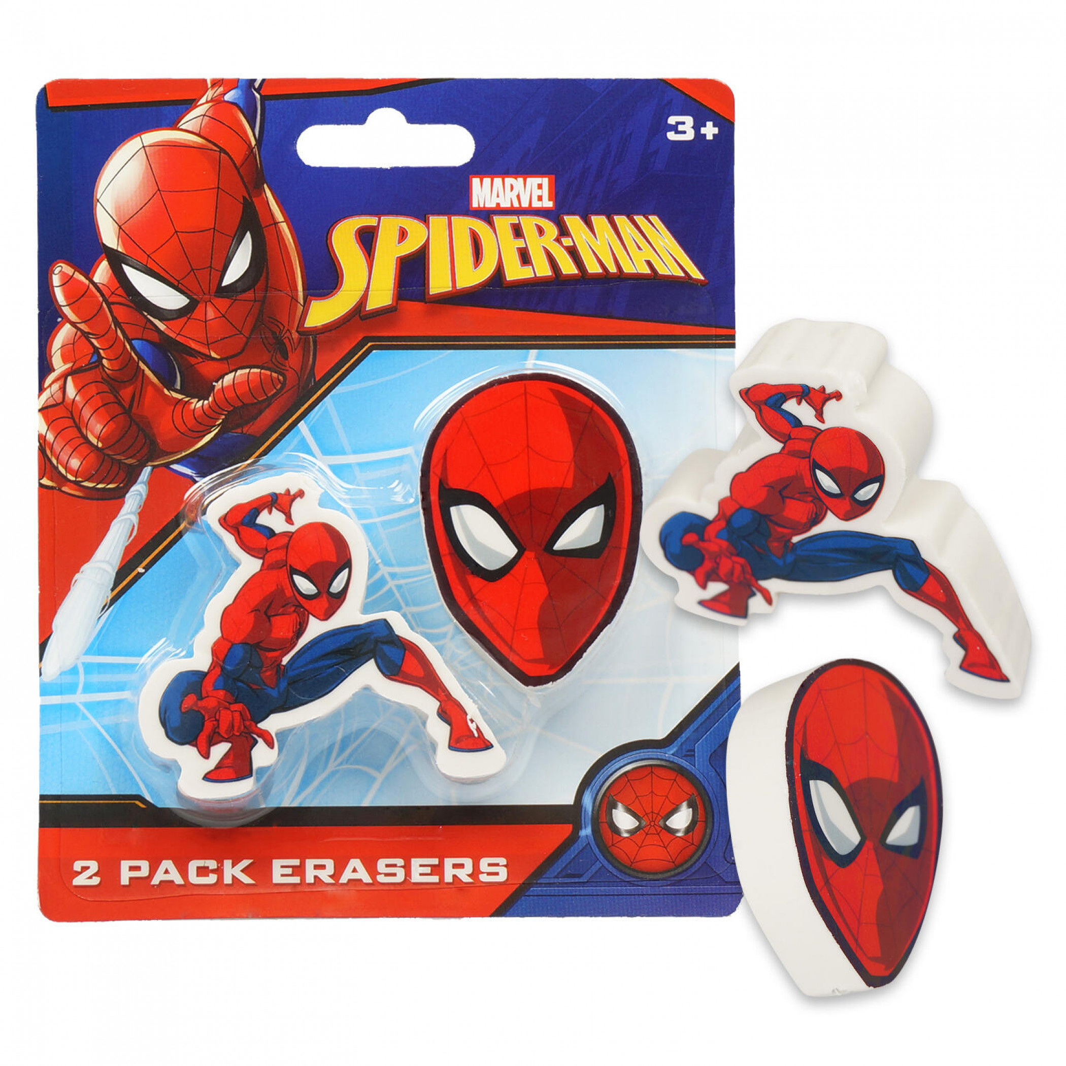 Spider-Man 2-Pack Erasers
