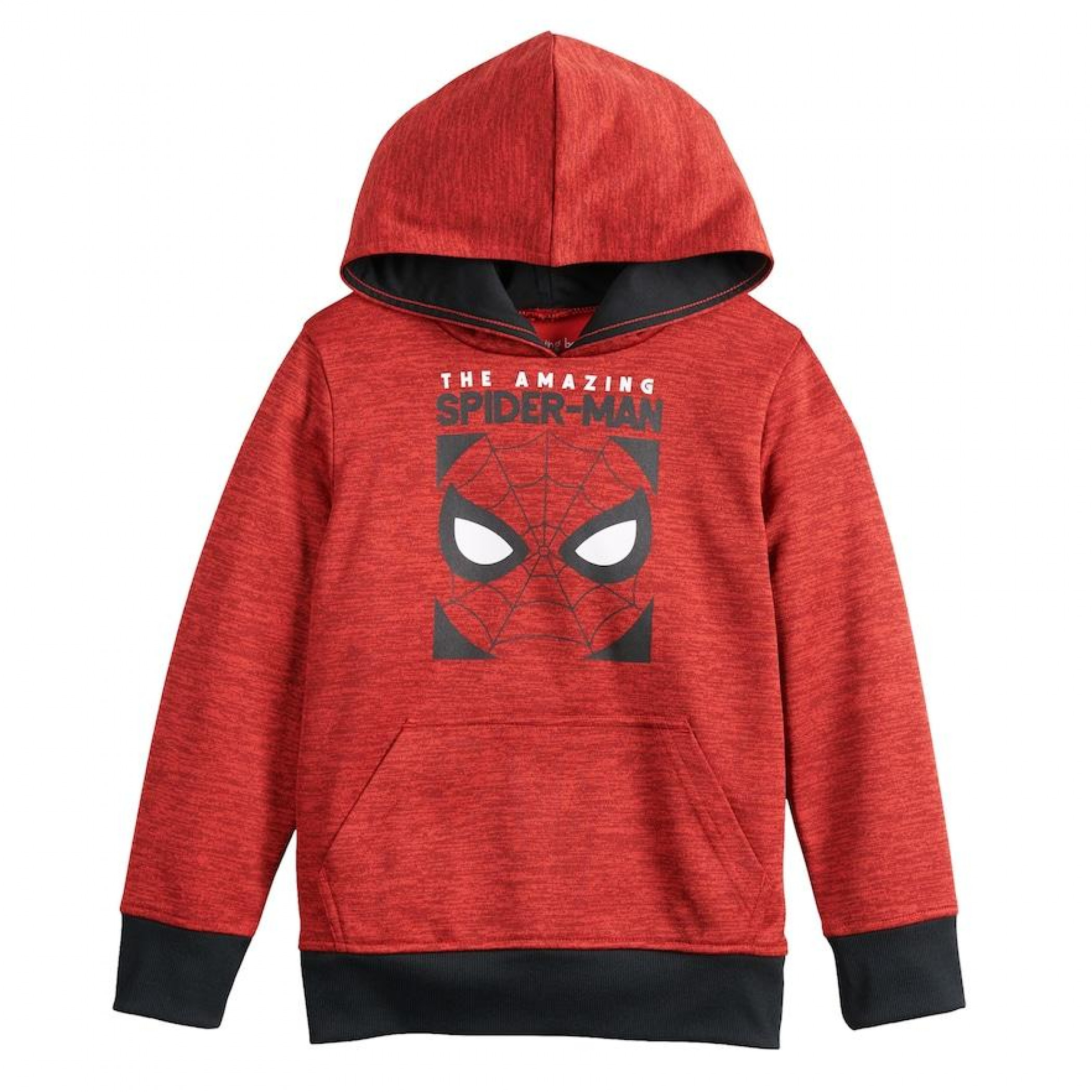 Spider-Man Face Symbol Boys Hoodie