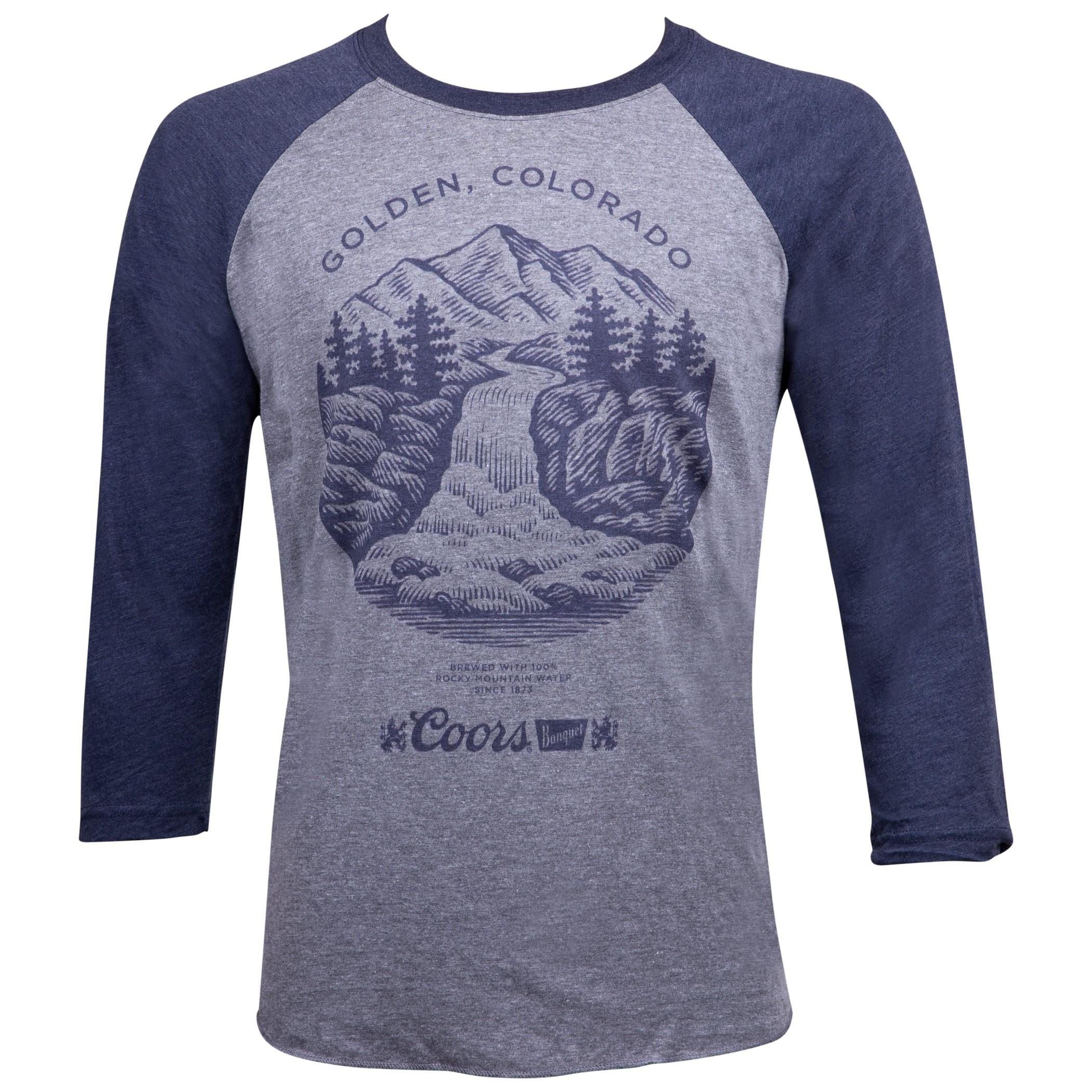 Coors Golden Colorado Raglan Shirt