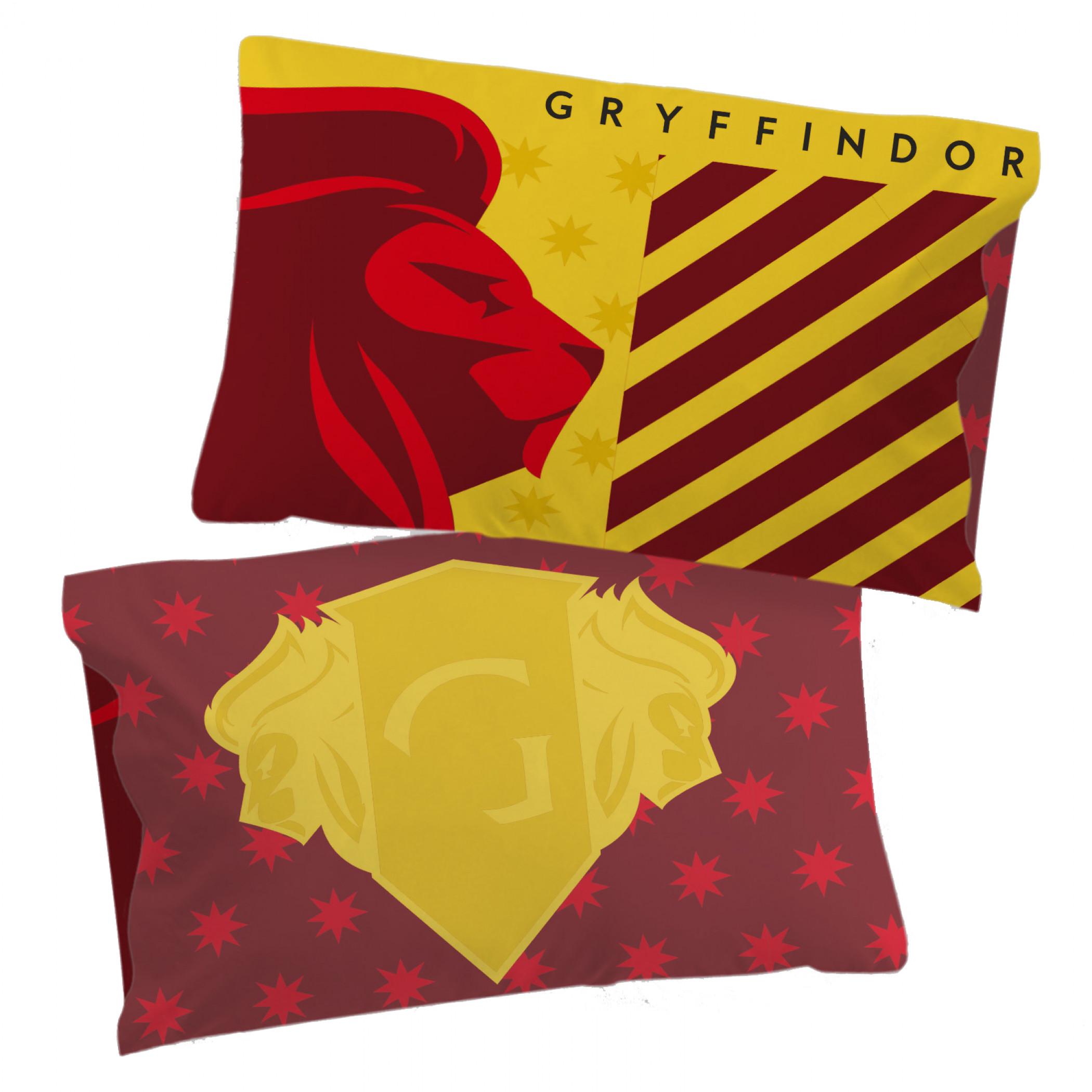 Harry Potter Gryffindor Pride Single Reversible Pillowcase