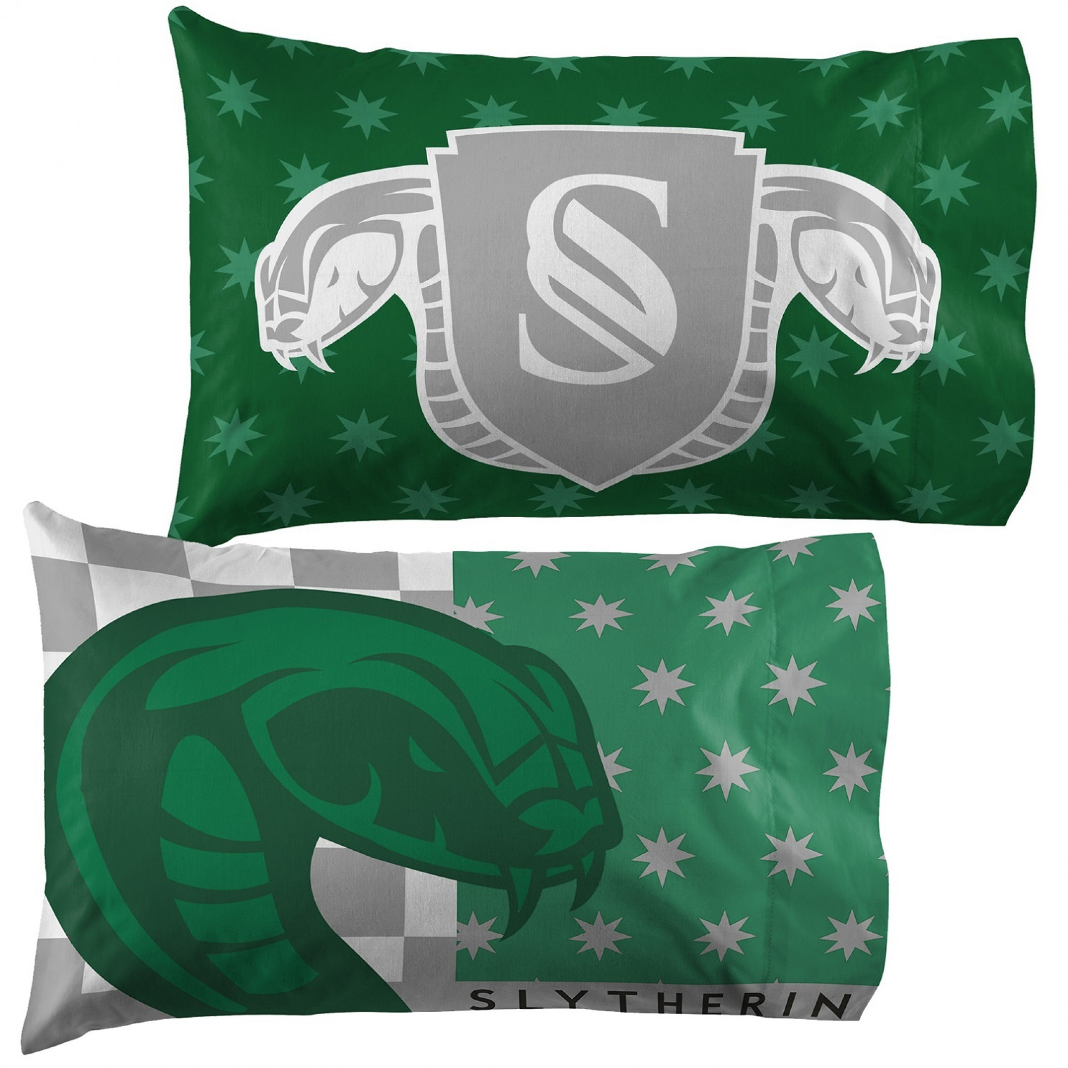 Harry Potter Slytherin Pride Single Reversible Pillowcase