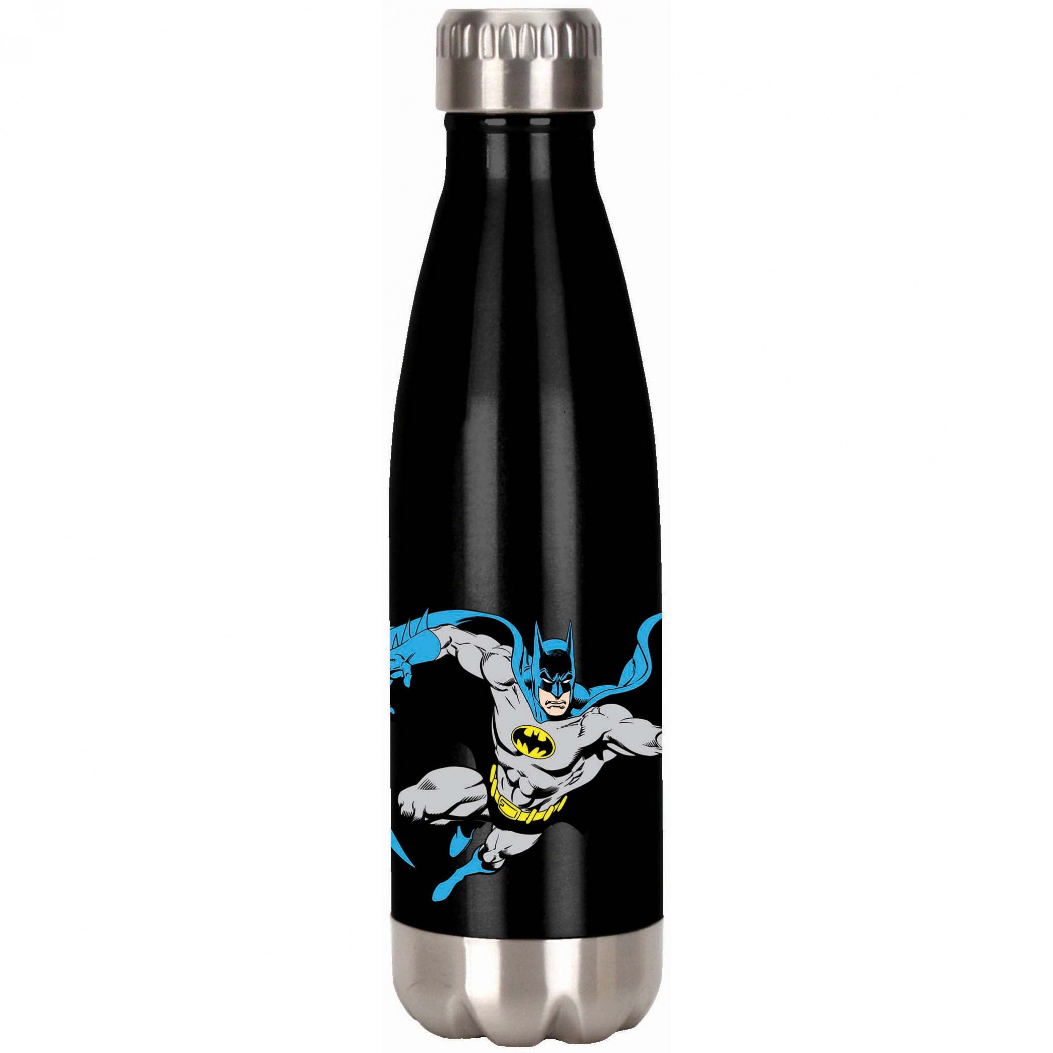 Batman Character and Symbol Stainless Water Bottle