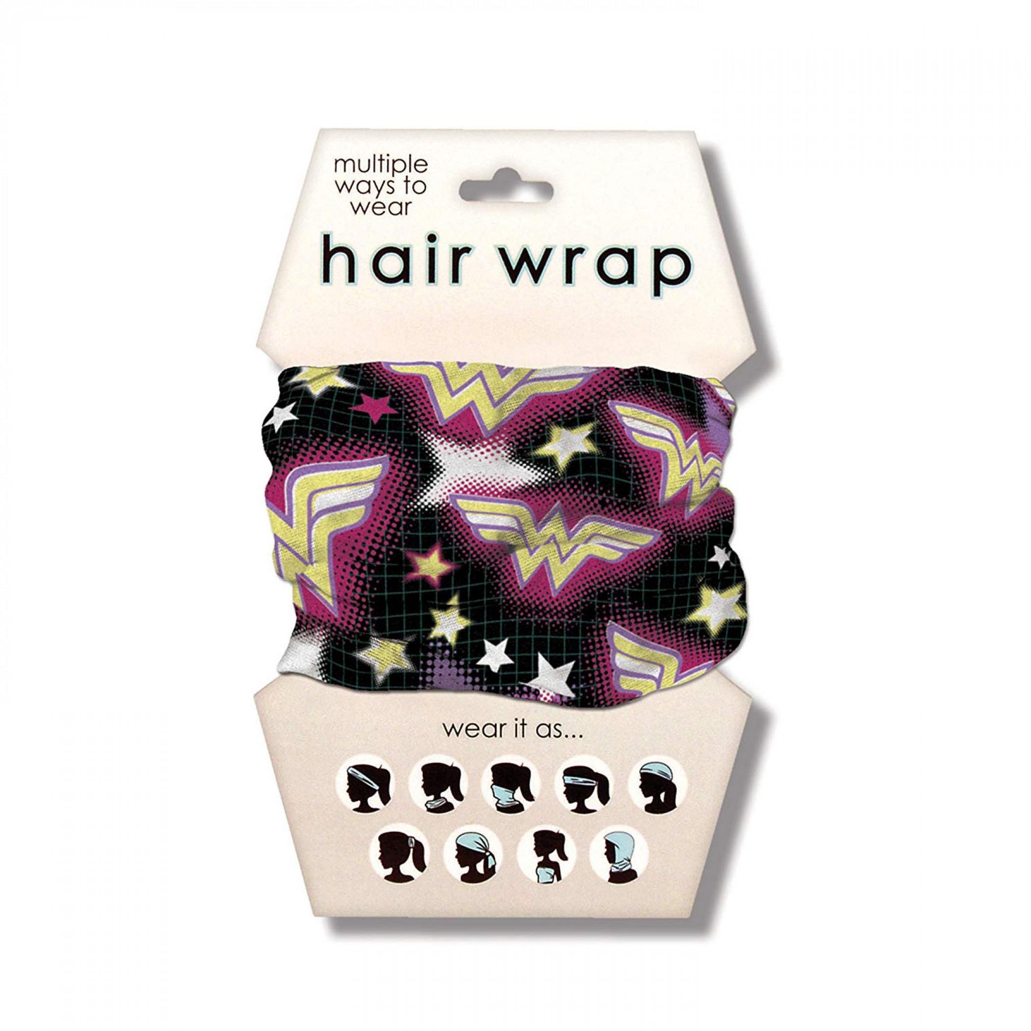 Wonder Woman Bright Symbols Hair Wrap