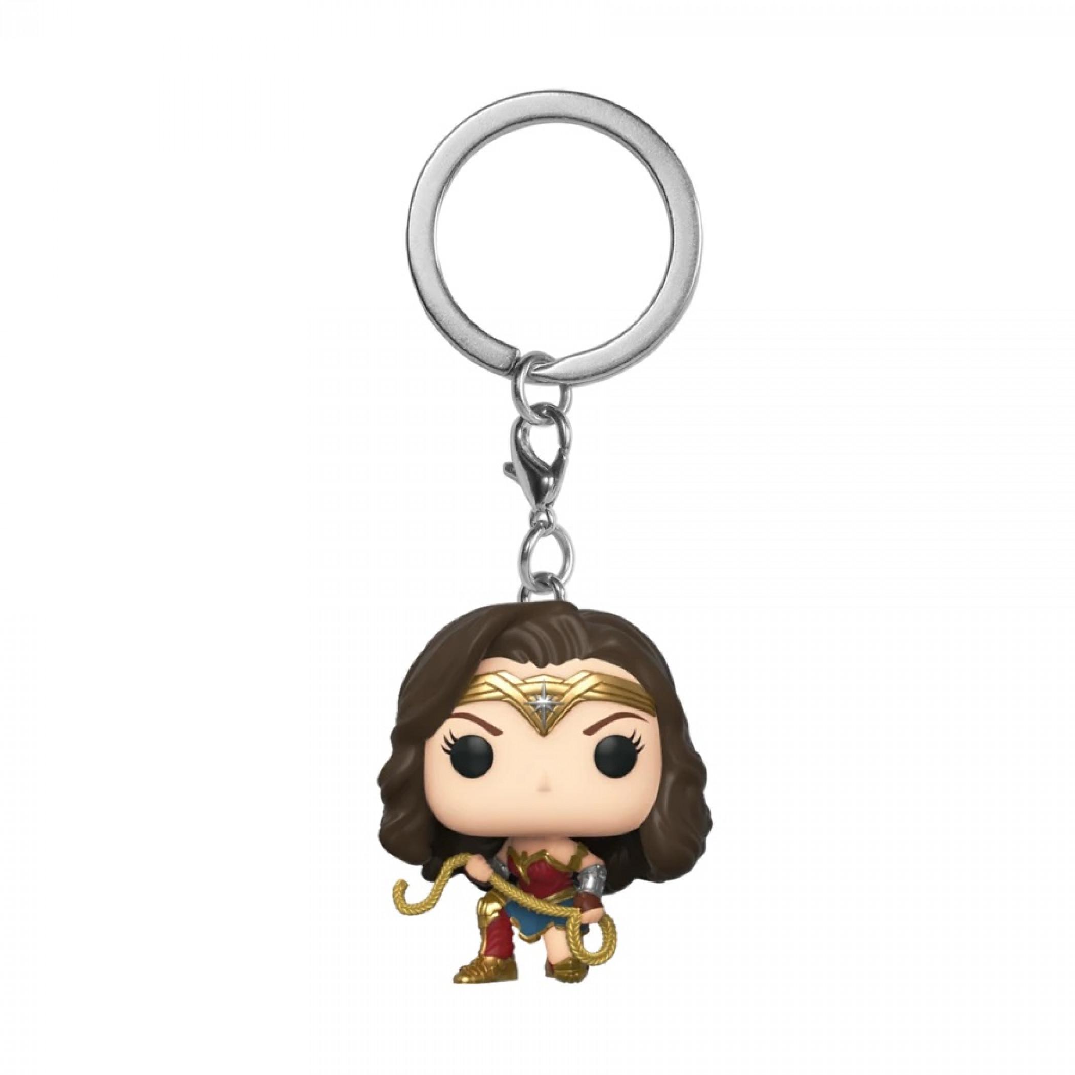 Funko Pop! Keychain: Wonder Woman 1984 - Wonder Woman w/ Lasso
