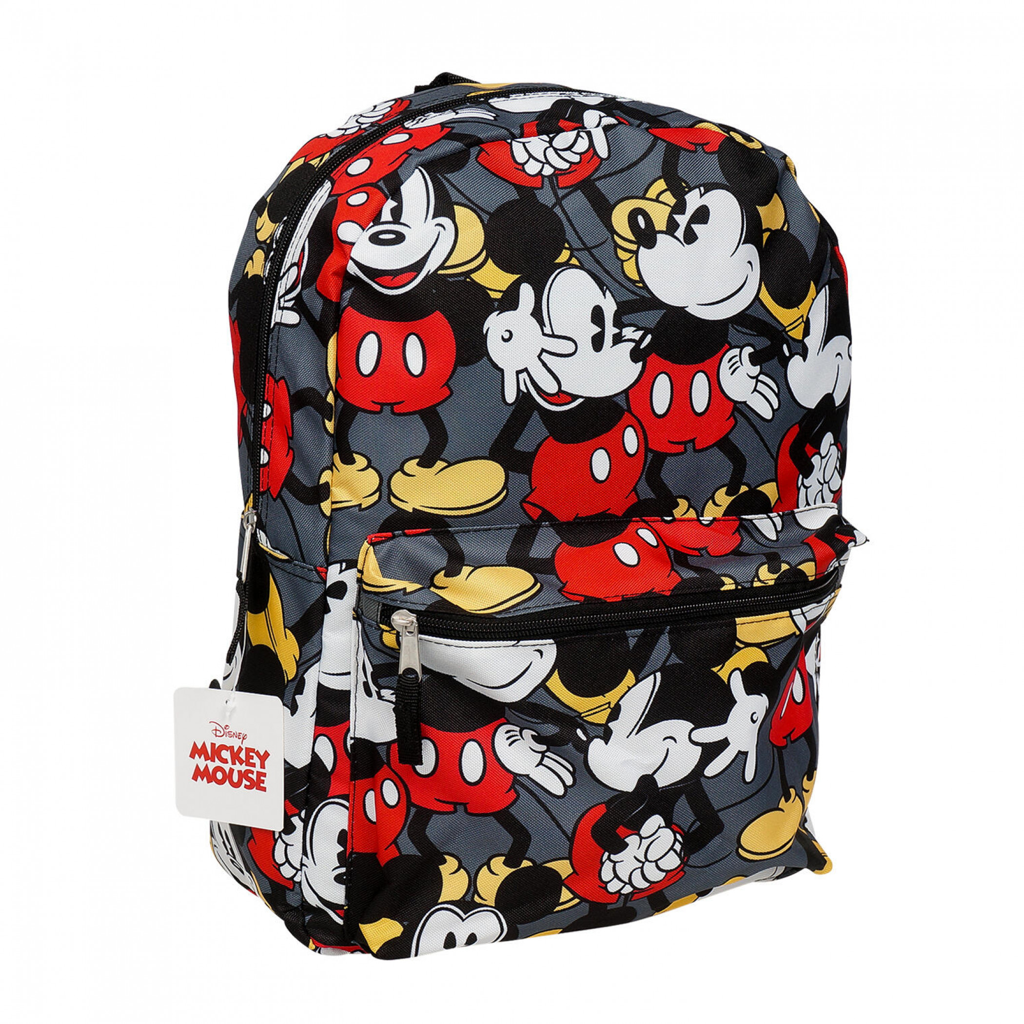 Disney Mickey Mouse Character All Over Print Backpack