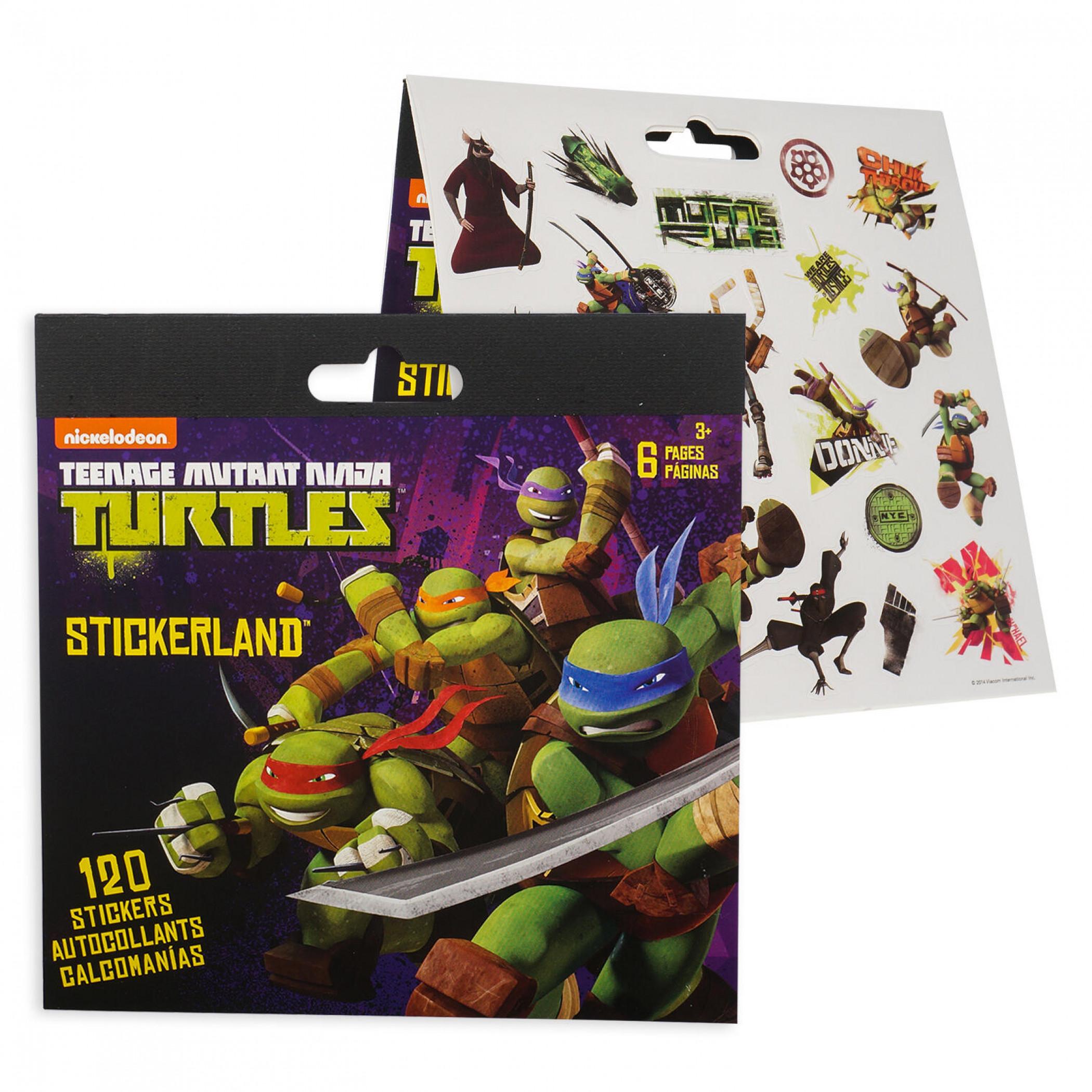 Teenage Mutant Ninja Turtles Sticker Pad