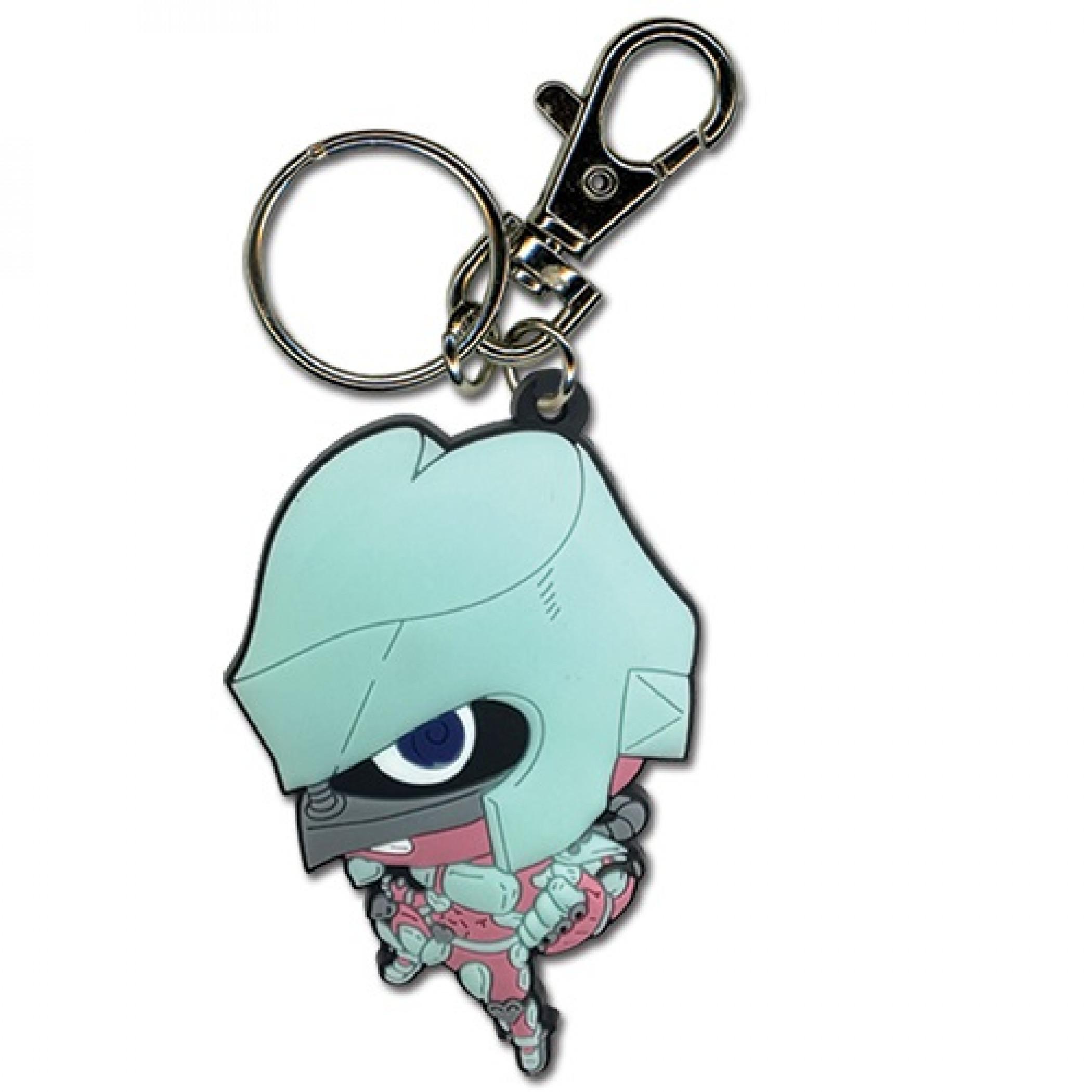 JoJo's Diamond Is Unbreakable Shining Diamond Stand PVC Keychain