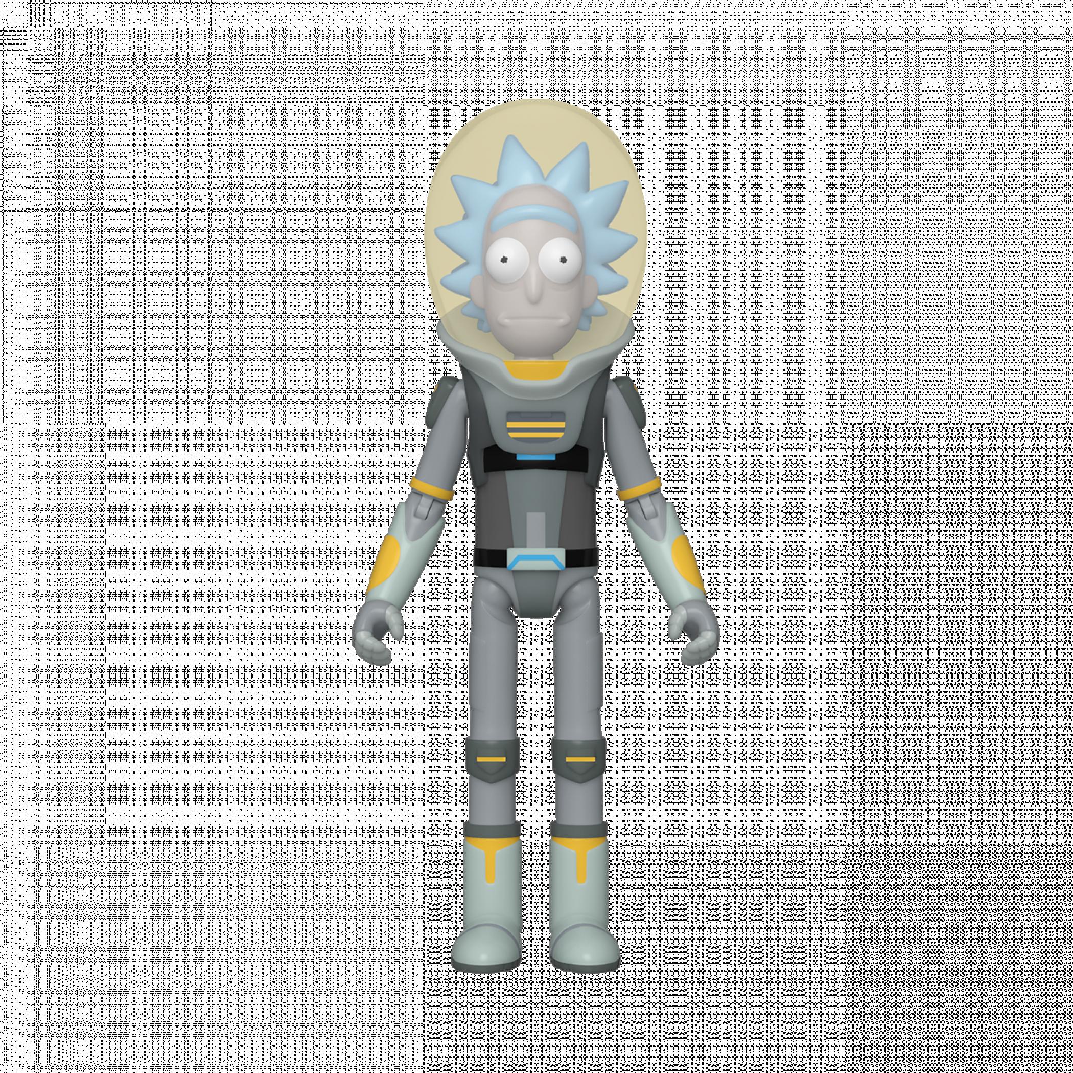 Rick & Morty Space Suit Rick Funko Action Figure