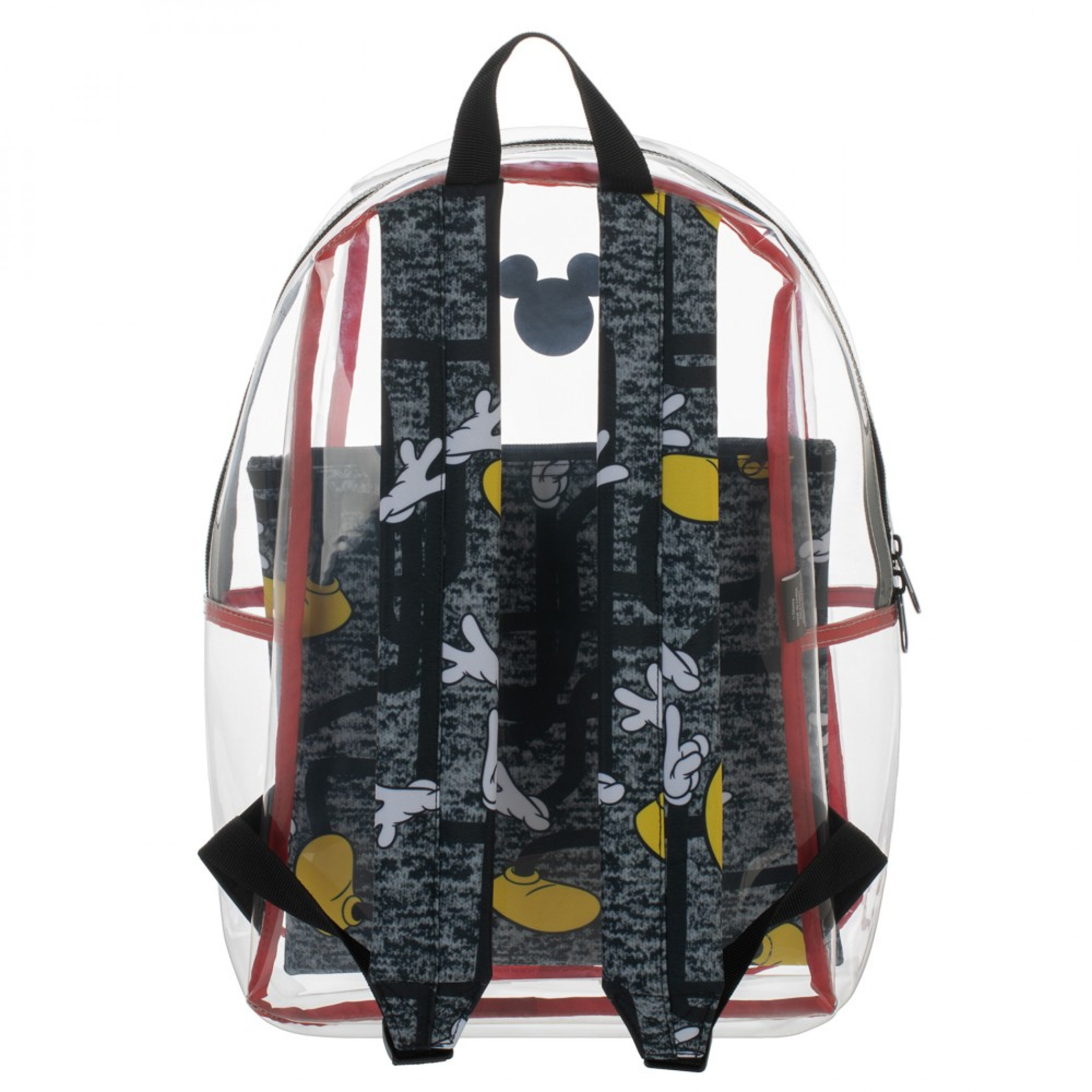 Disney Mickey Mouse Clear Backpack