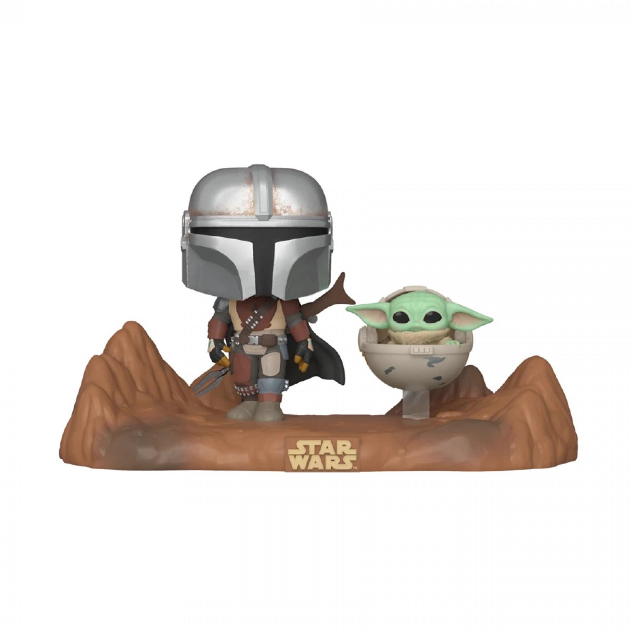 Star Wars The Mandalorian & The Child Funko Pop! Movie Moment Figure