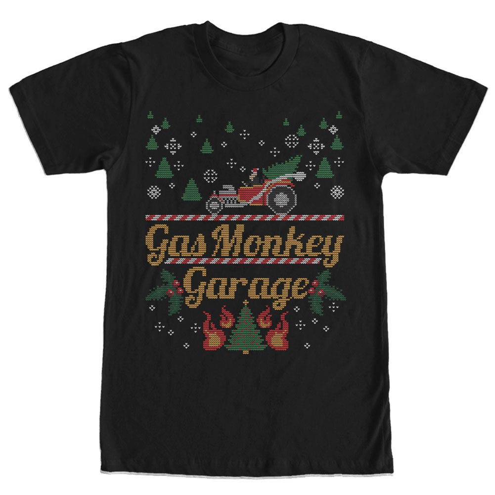 Gas Monkey Garage Monkey Sweater Black T-Shirt