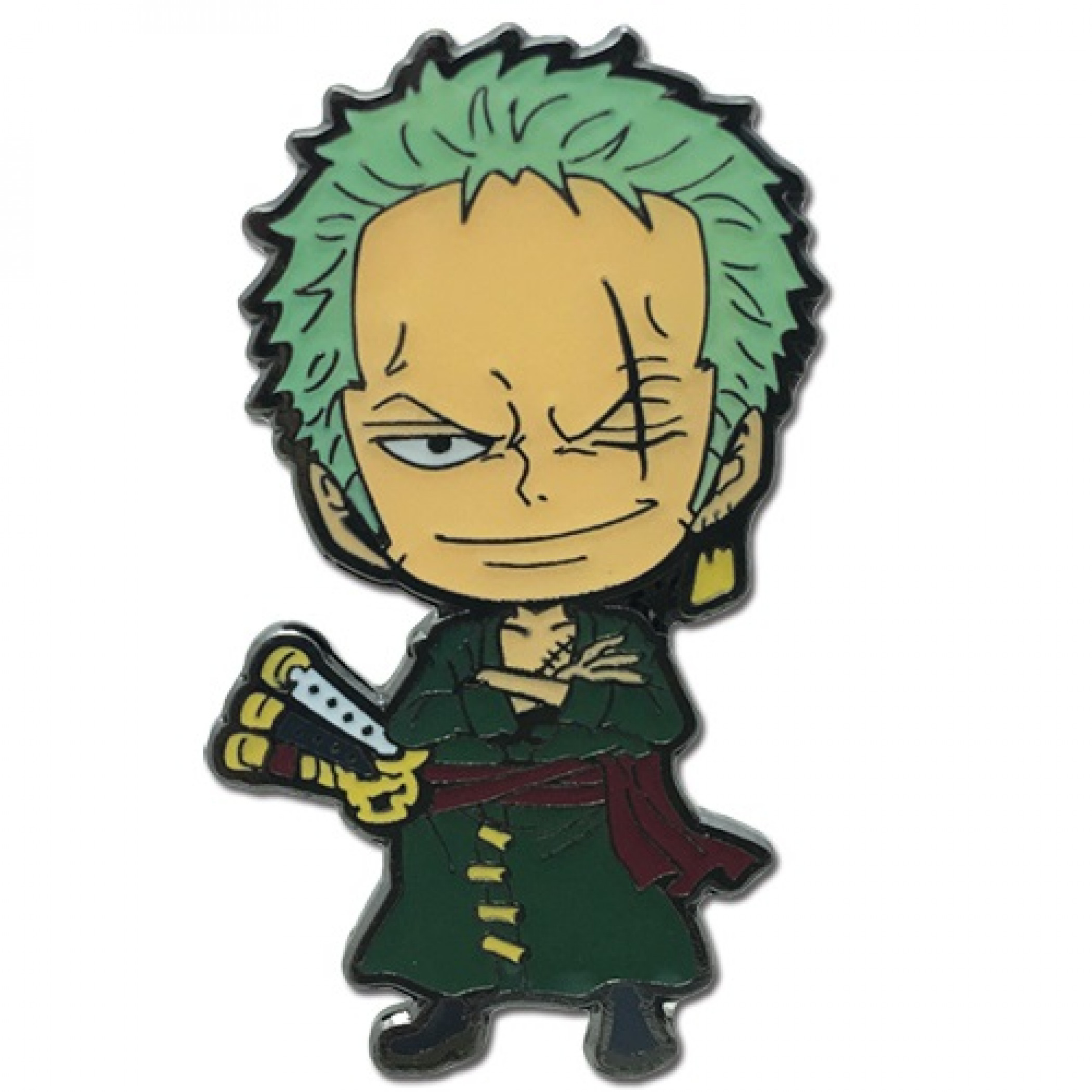 One Piece Roronoa Zoro Enamel Pin