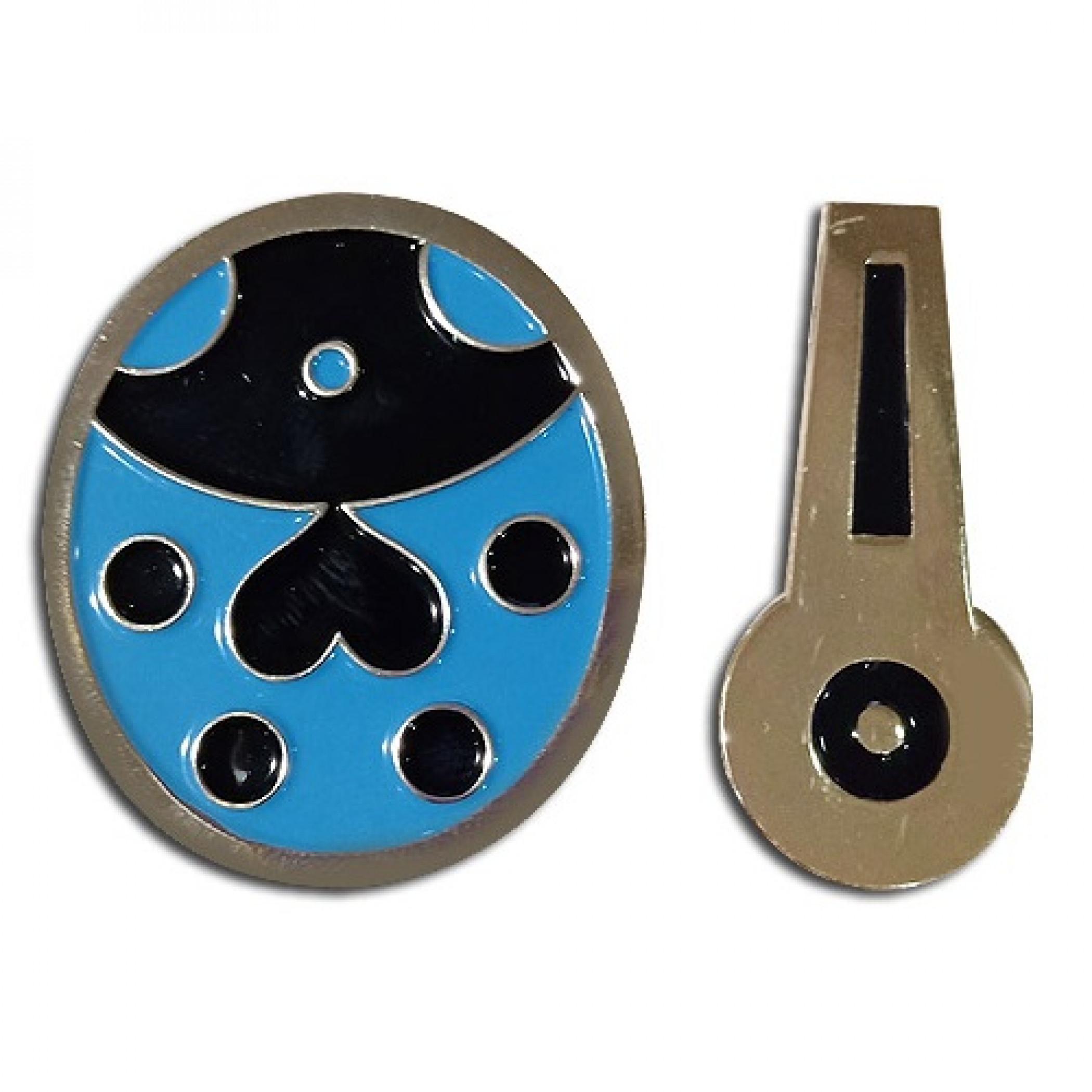JOJO Golden Wind Giorno Lady Bug and Bruno Bucciarati Zipper Pins