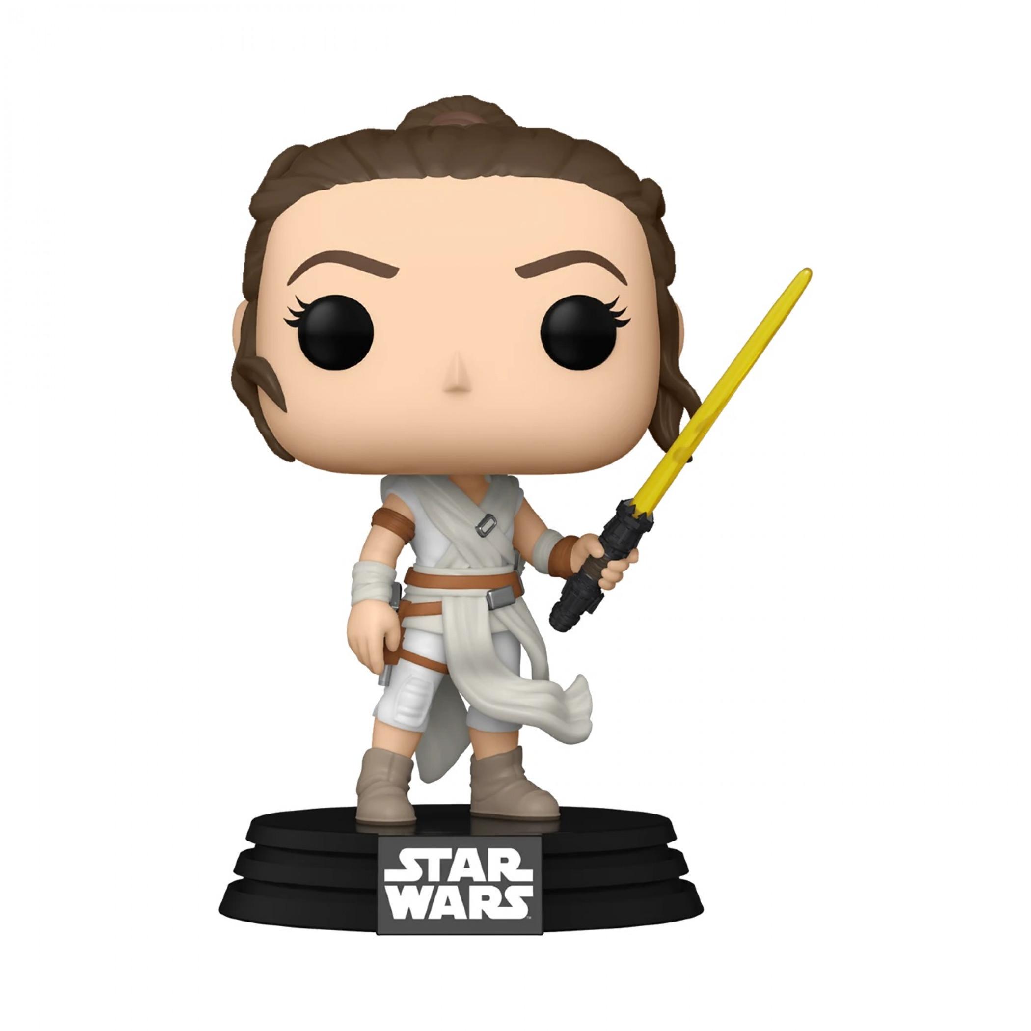 Star Wars Rey with Yellow Lightsaber Funko Pop! Vinyl Figure