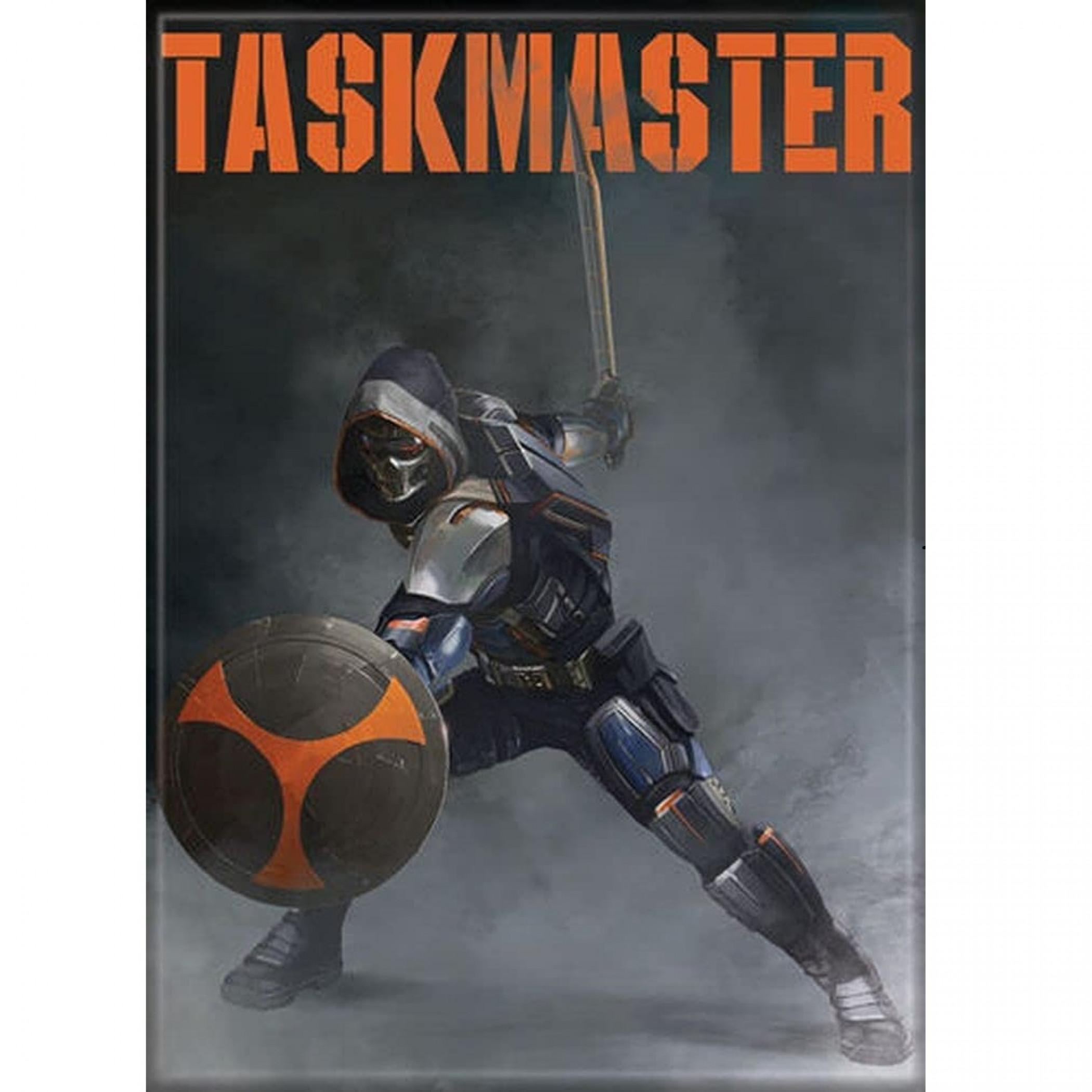 Black Widow Movie Taskmaster Character Magnet