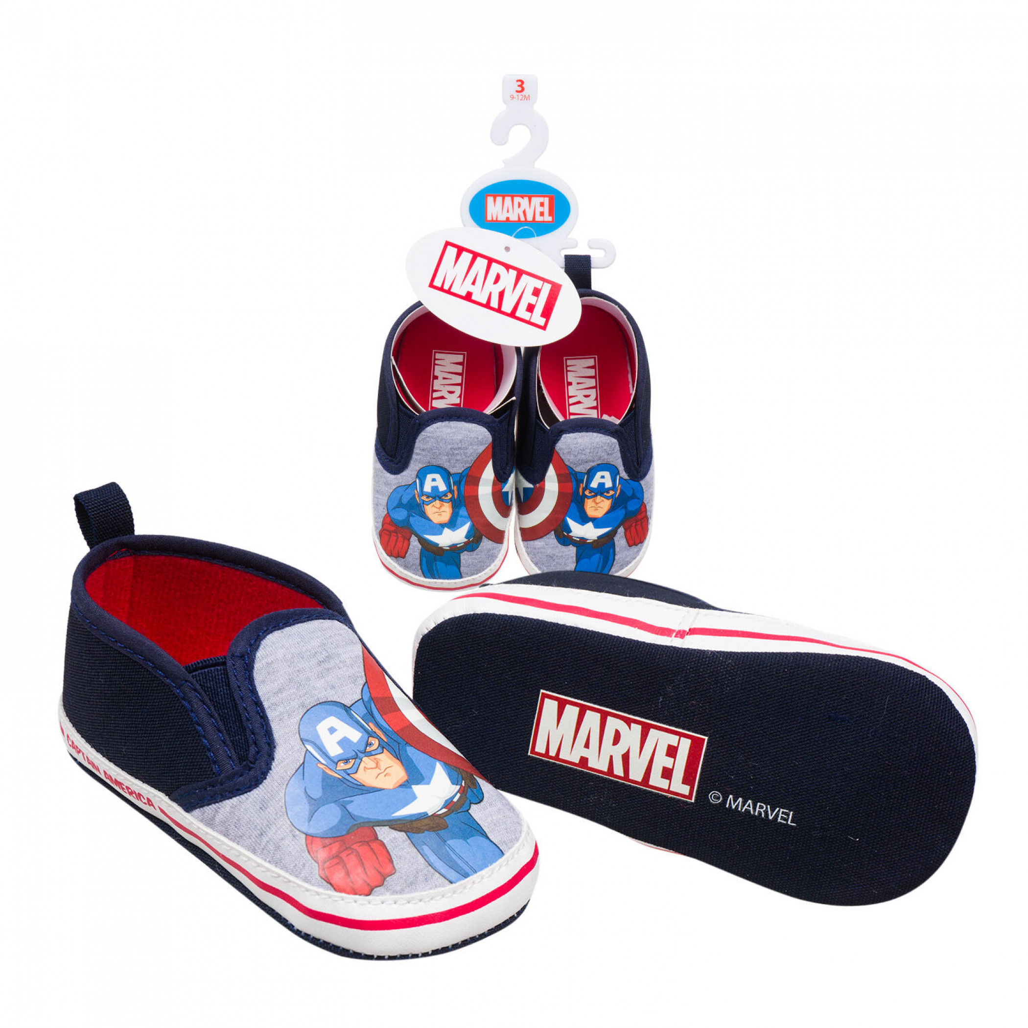 Captain America Character Baby Shoes