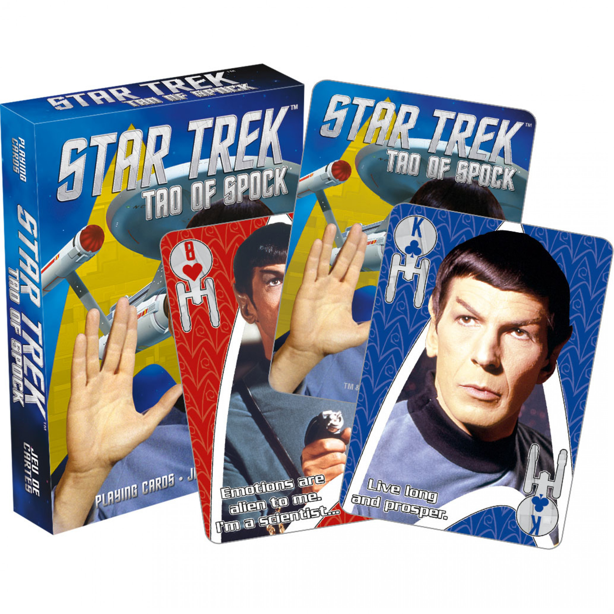 Star Trek Spock Playing Cards