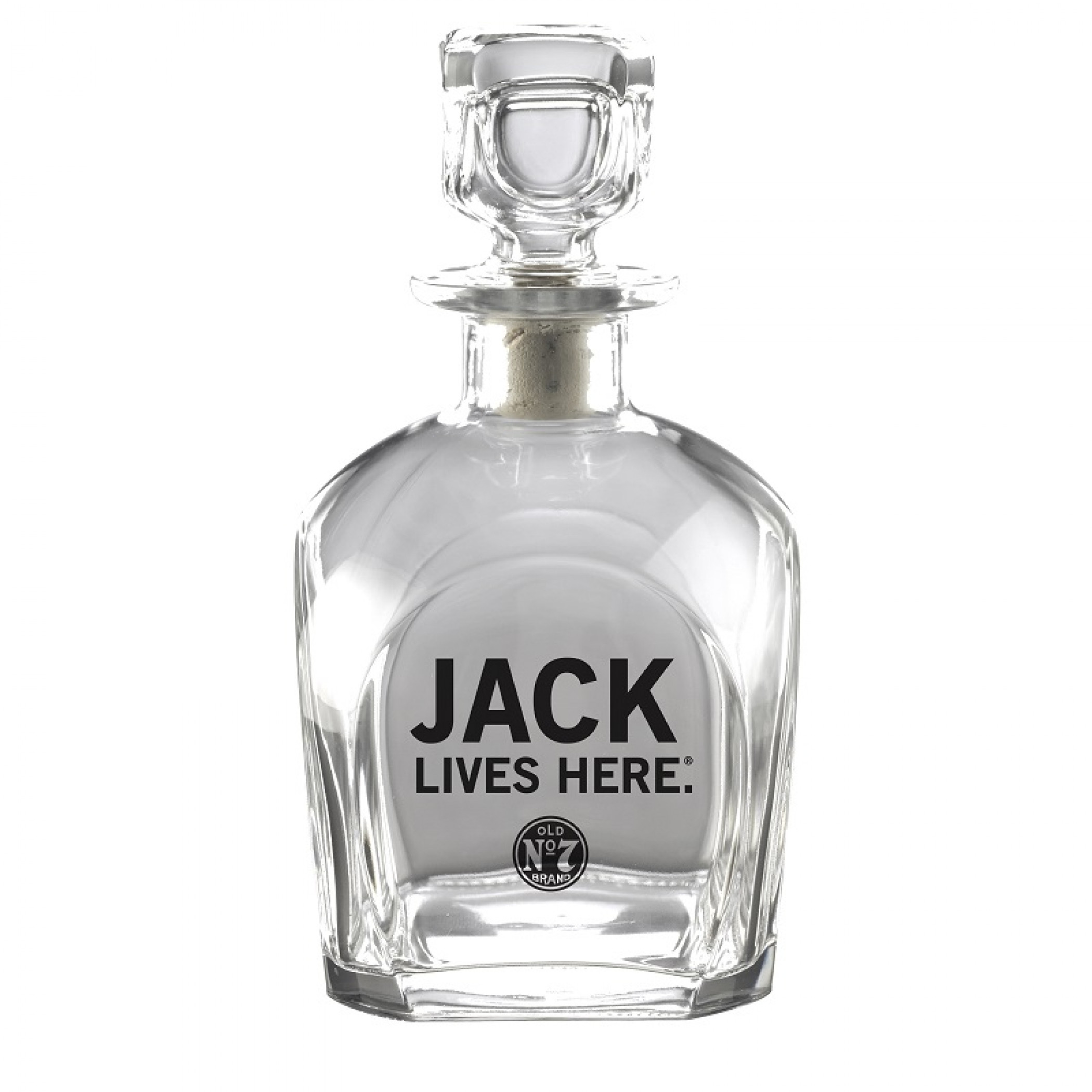 Jack Daniels Jack Lives Here Decanter