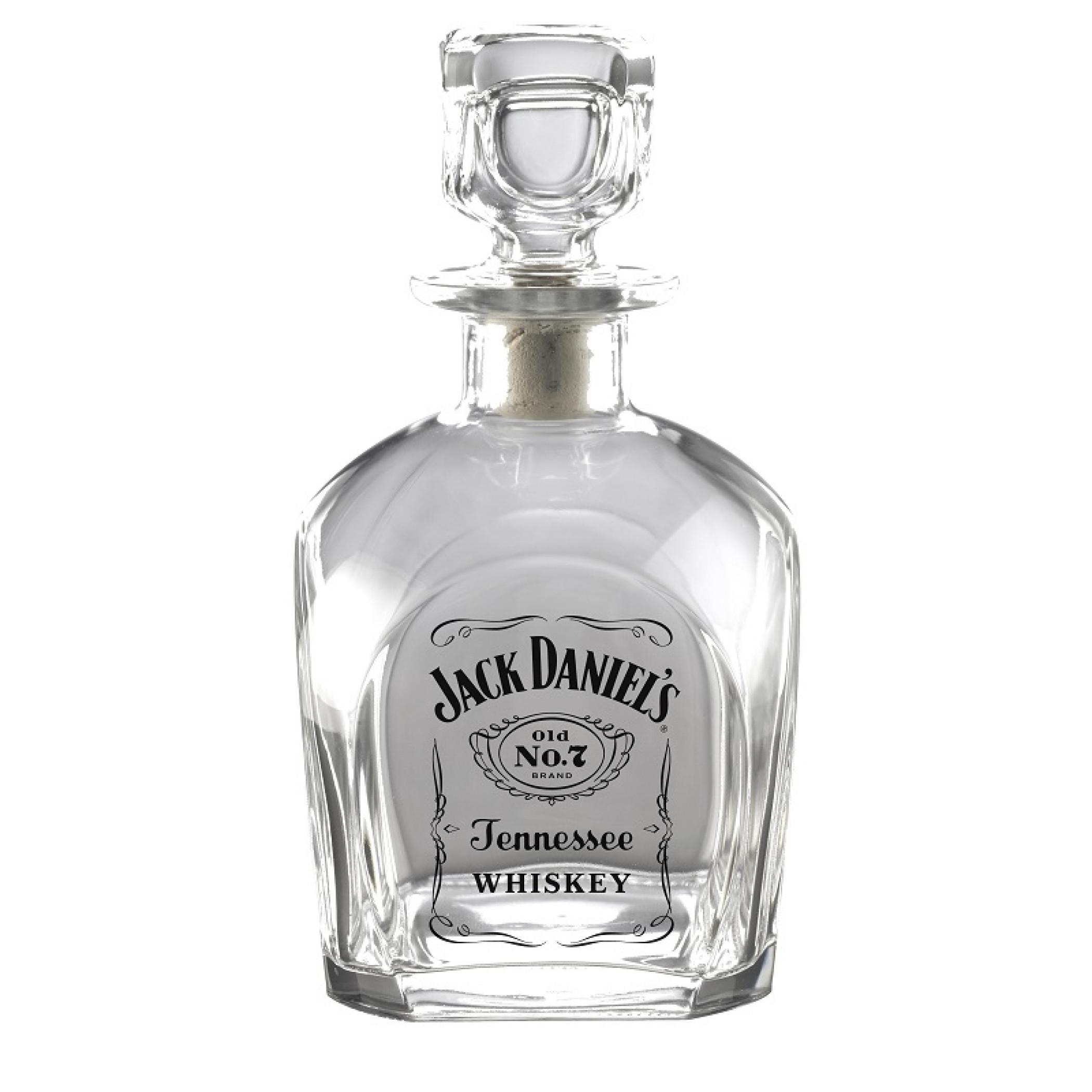 Jack Daniels Label Decanter