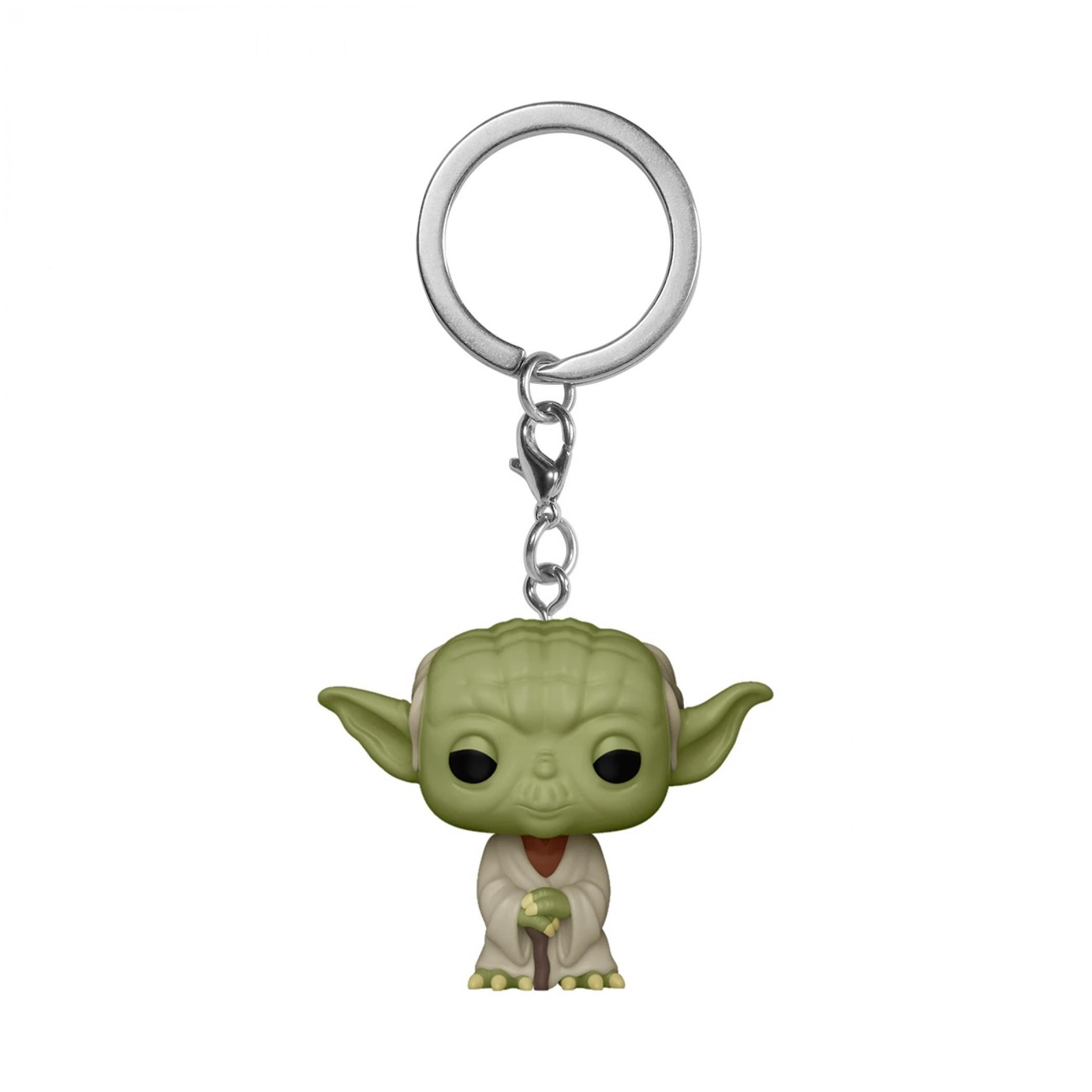 Star Wars Classics Yoda Funko Pop! Keychain