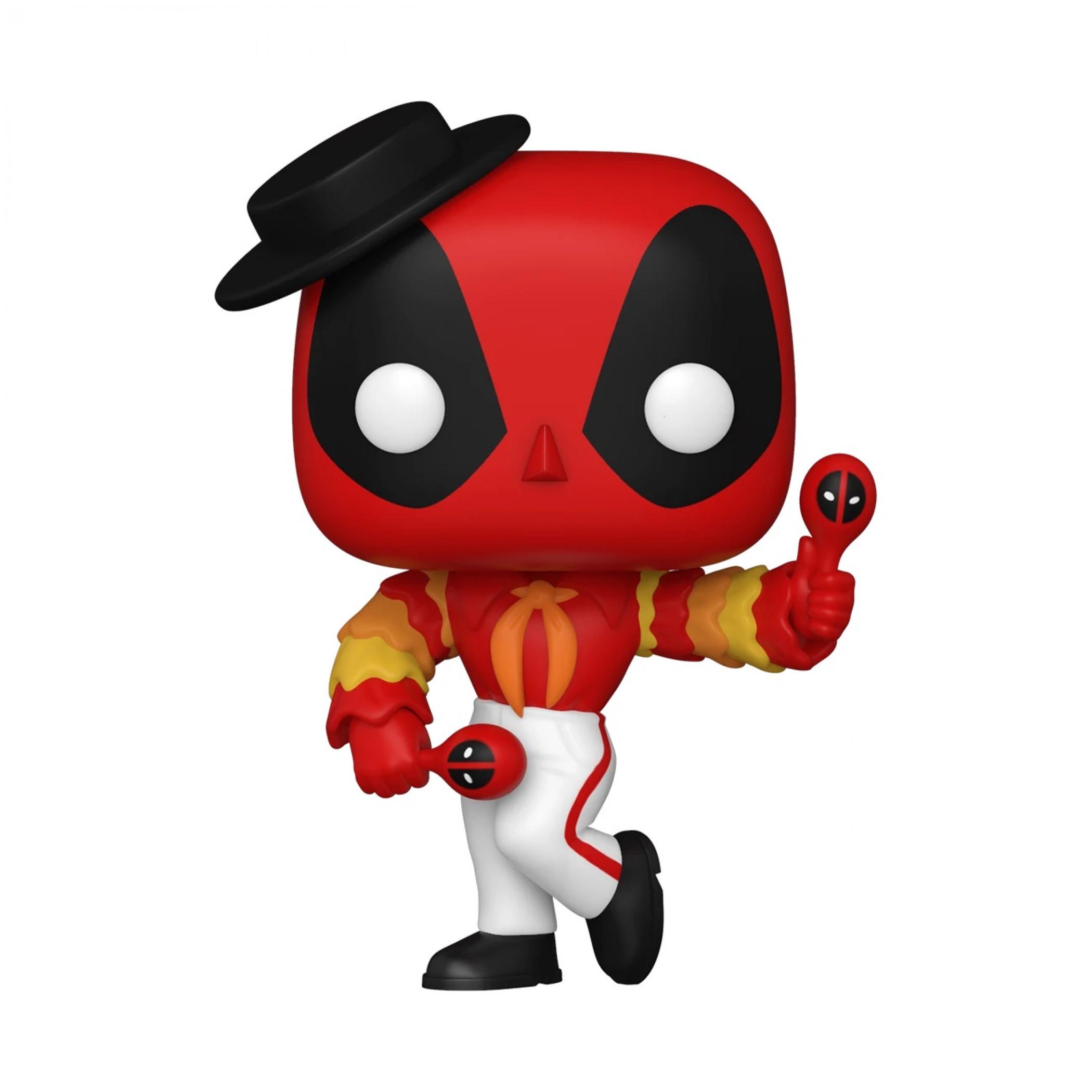 Deadpool 30th Anniversary Flamenco Deadpool Funko Pop! Vinyl Figure