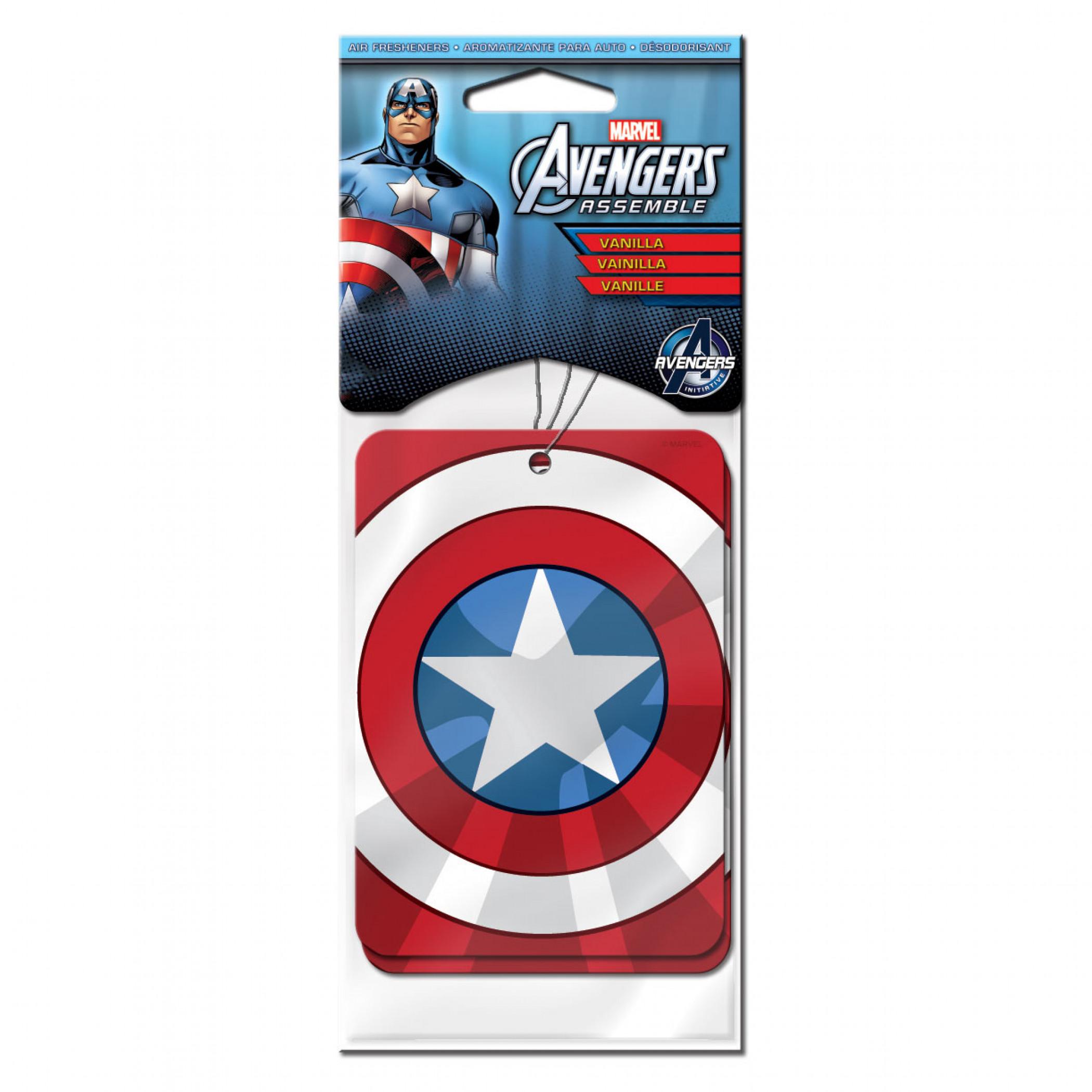 Captain America 2-Pack Vanilla Air Freshener