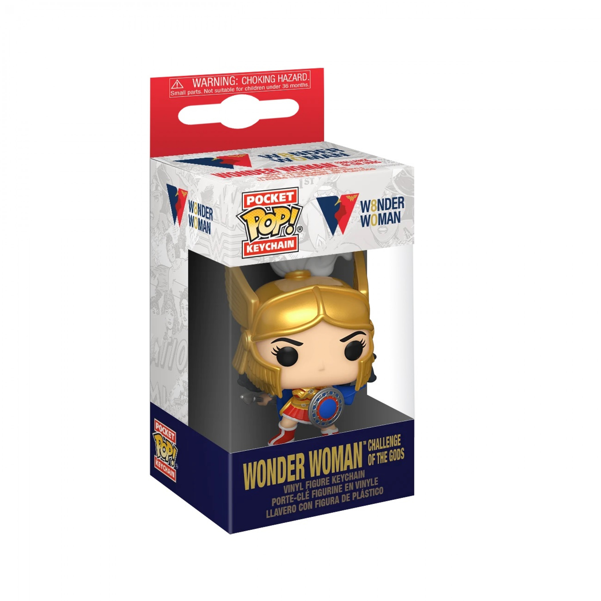 Wonder Woman 80th Anniversary Funko Pop! Keychain