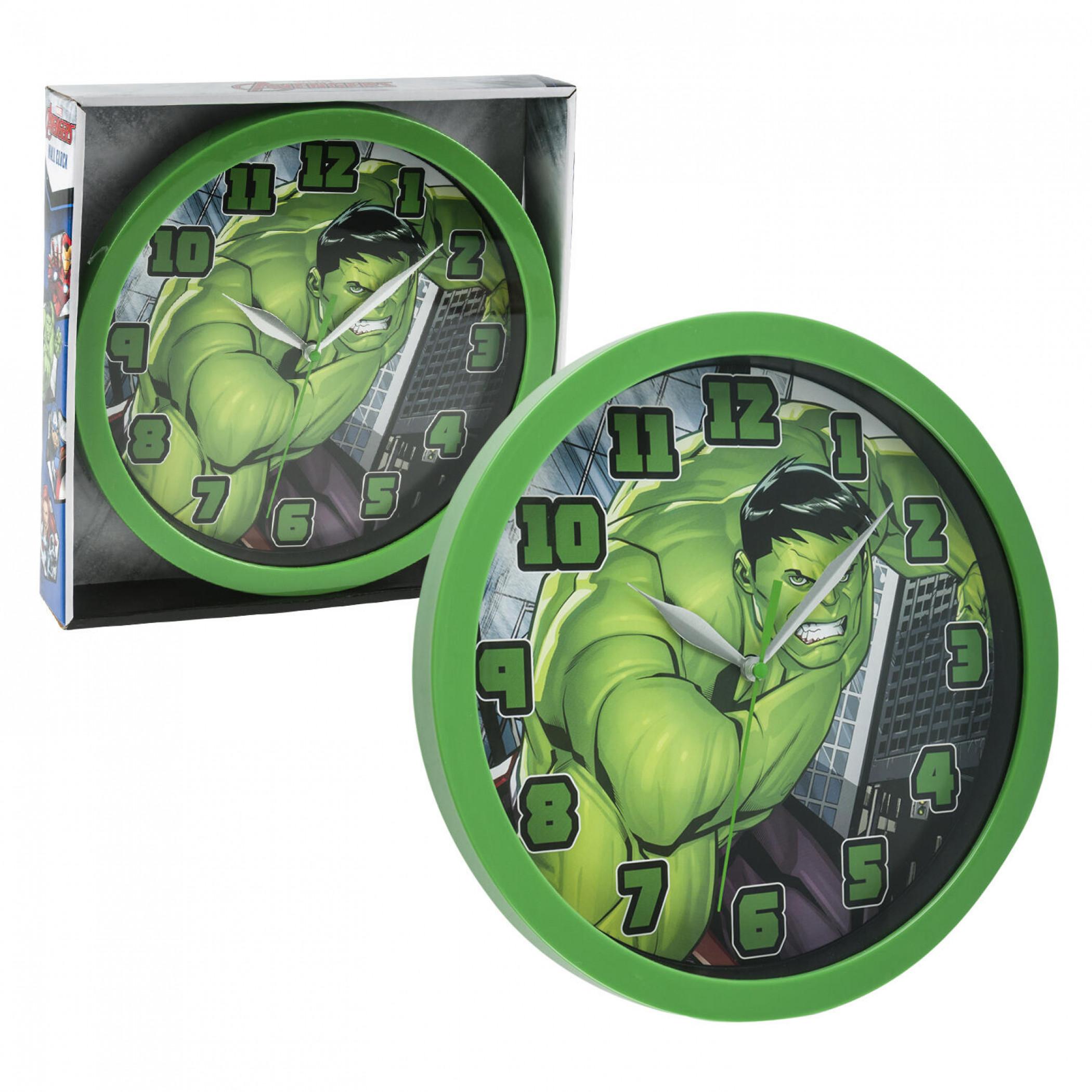 """Marvel Comics The Incredible Hulk Character 9 3/4"""" Wall Clock"""