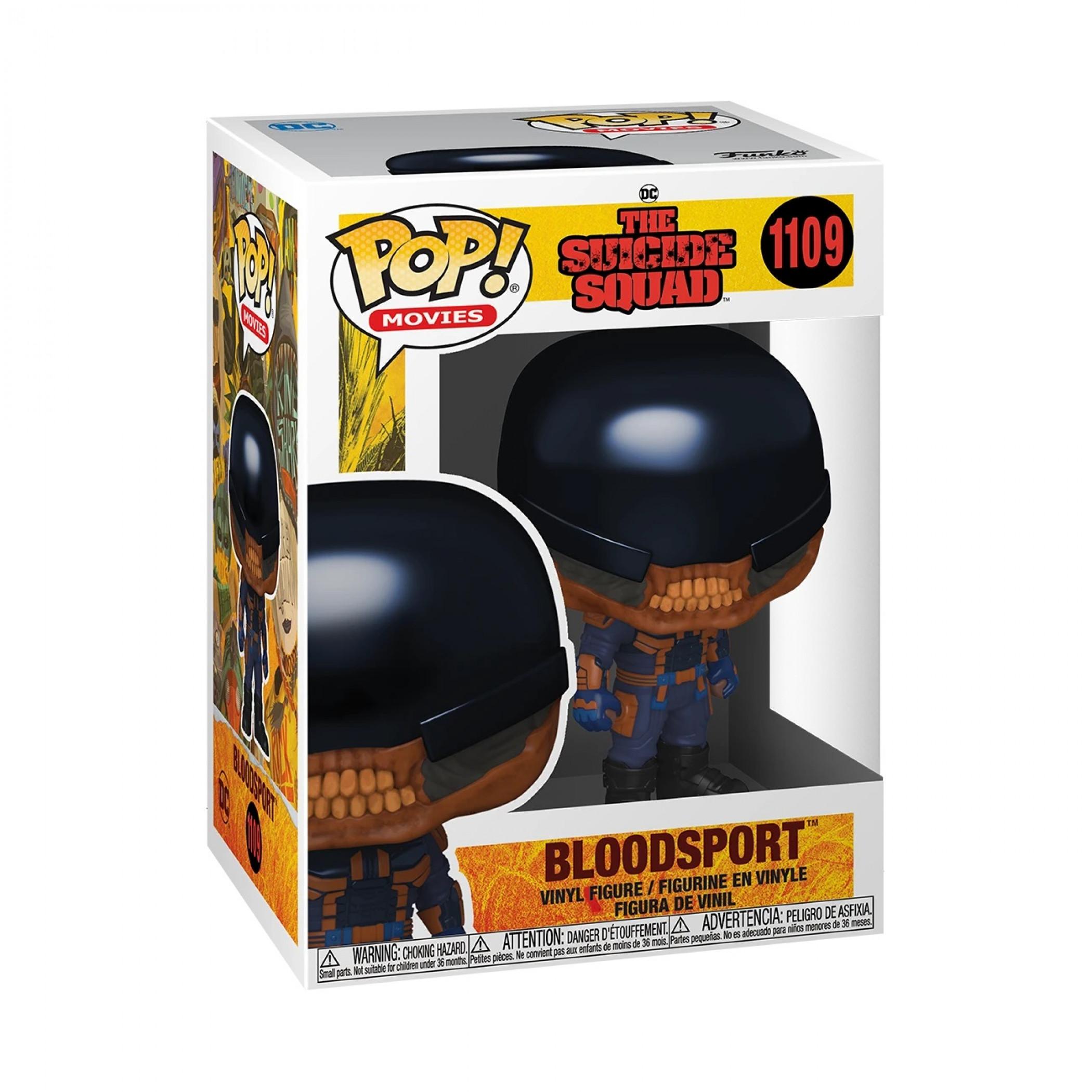 The Suicide Squad Bloodsport Funko Pop! Vinyl Figure