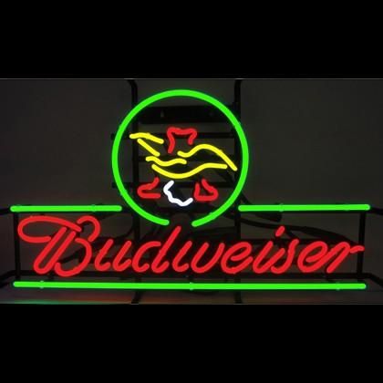 Budweiser American Eagle Neon Sign