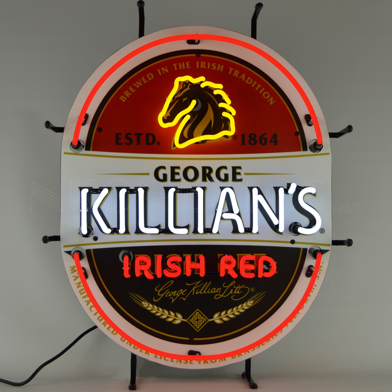 Killian's Irish Red Neon Sign