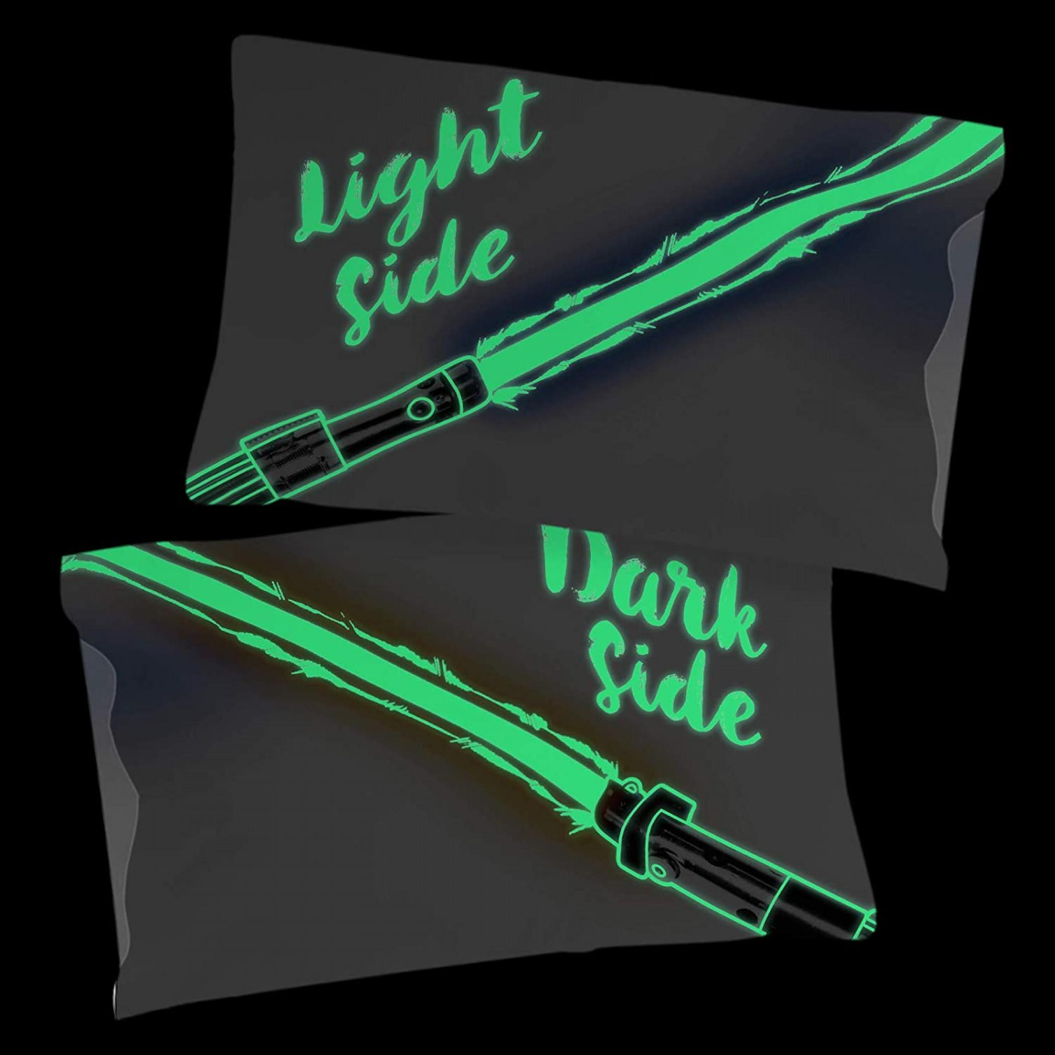 Star Wars Light/Dark Side Glow in the Dark Pillowcase 2-Pack