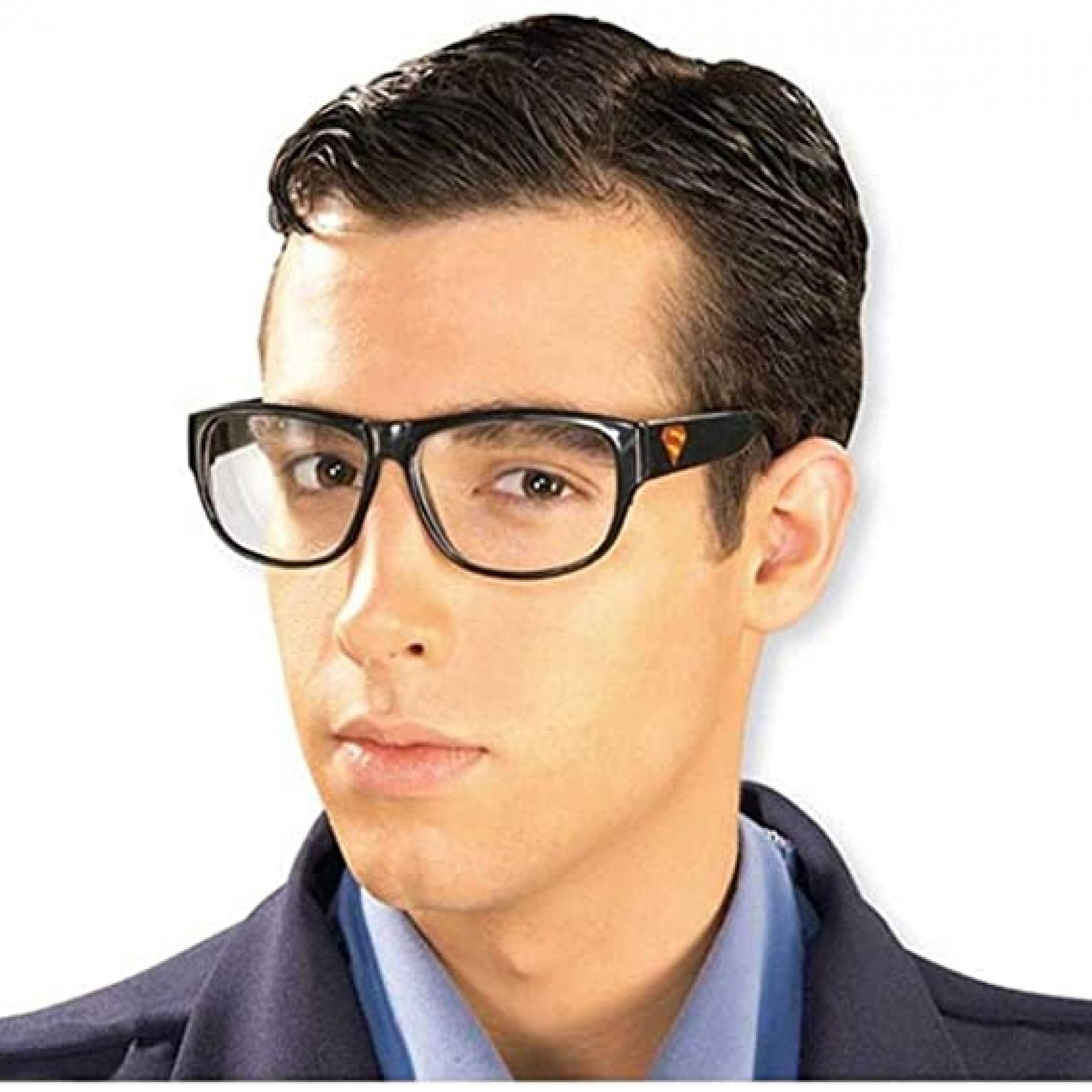 Superman Clark Kent Costume Glasses with Superman Symbol