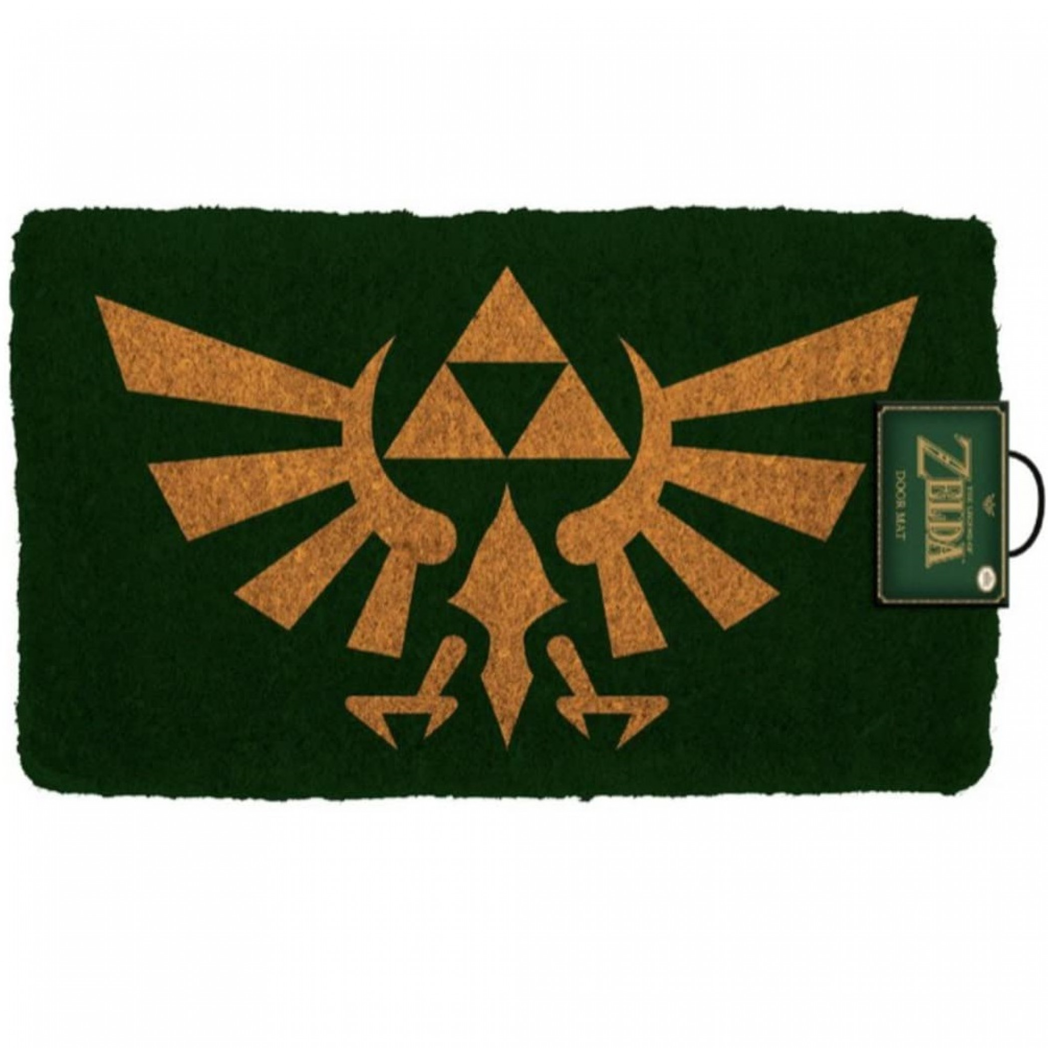 """Zelda Hyrule Crest 17""""x 29"""" Doormat with Non-Skid Back"""