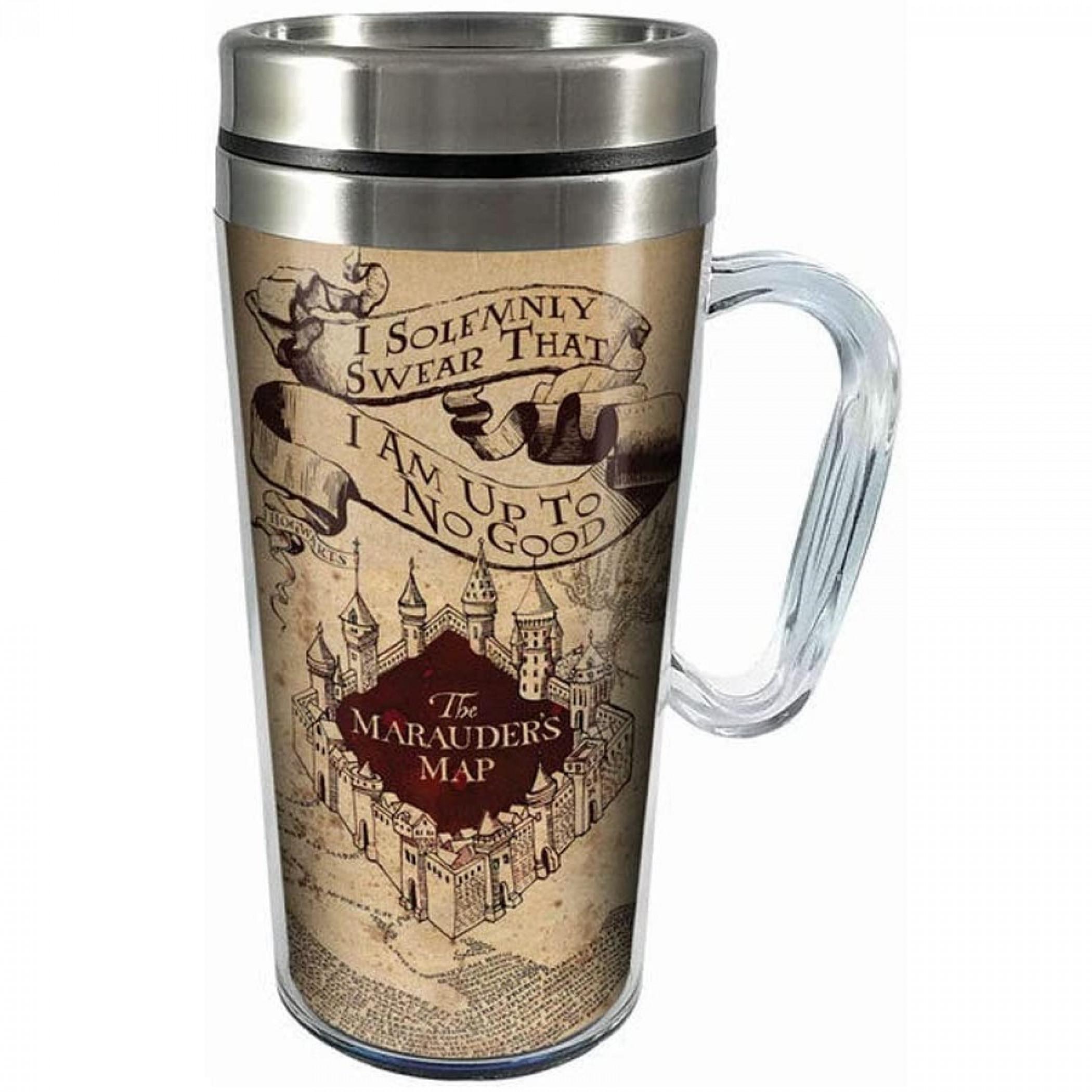 Harry Potter Marauders Map Travel Mug