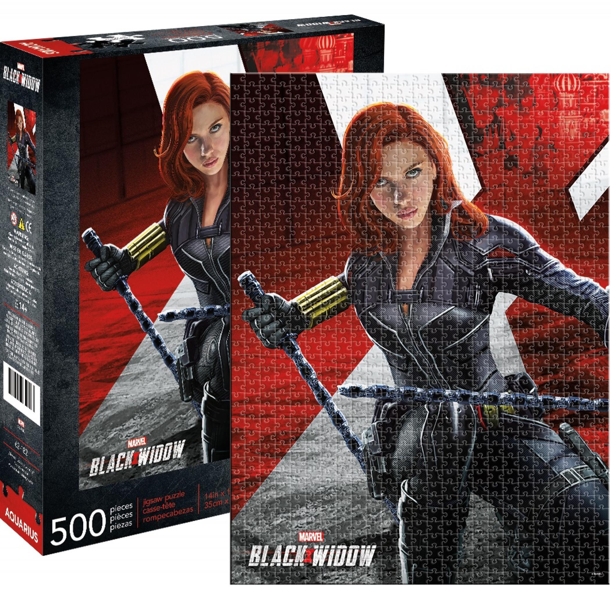 Black Widow Marvel 500 Piece Puzzle