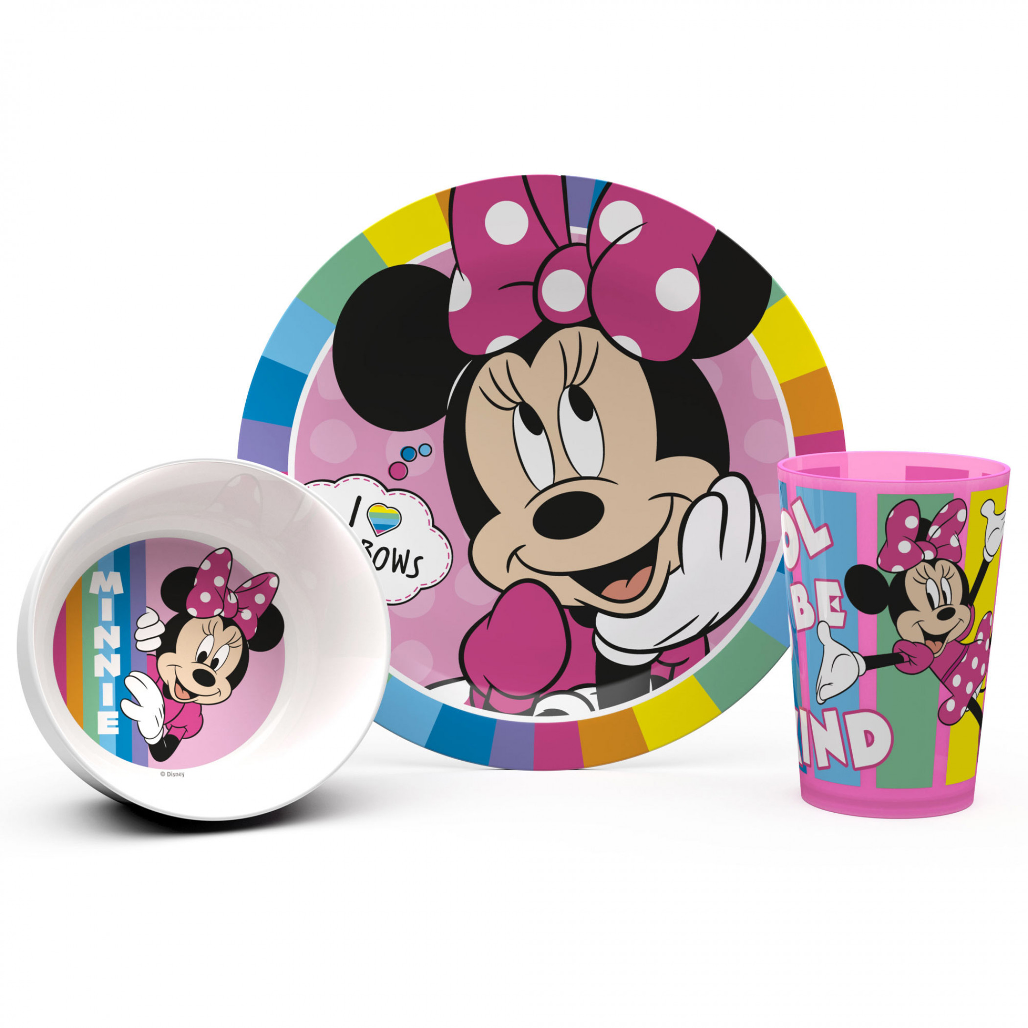 Minnie Mouse 3-Piece Dining Set
