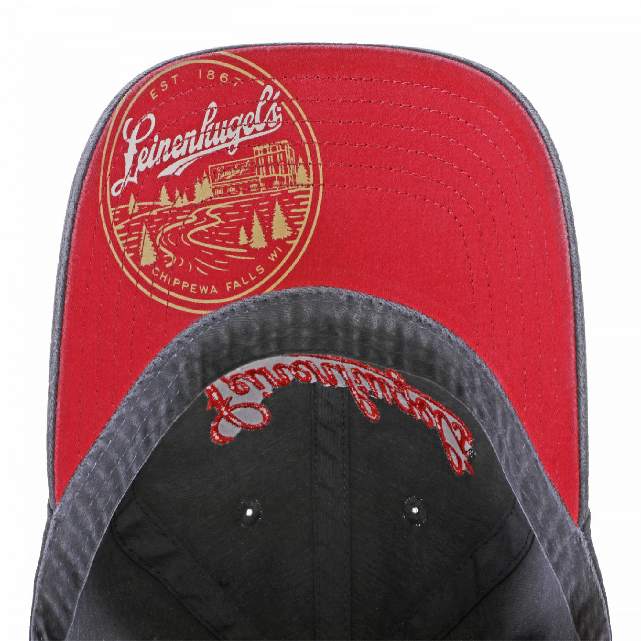 Leinenkugel's Beer Logo with Under Brim Print Hat