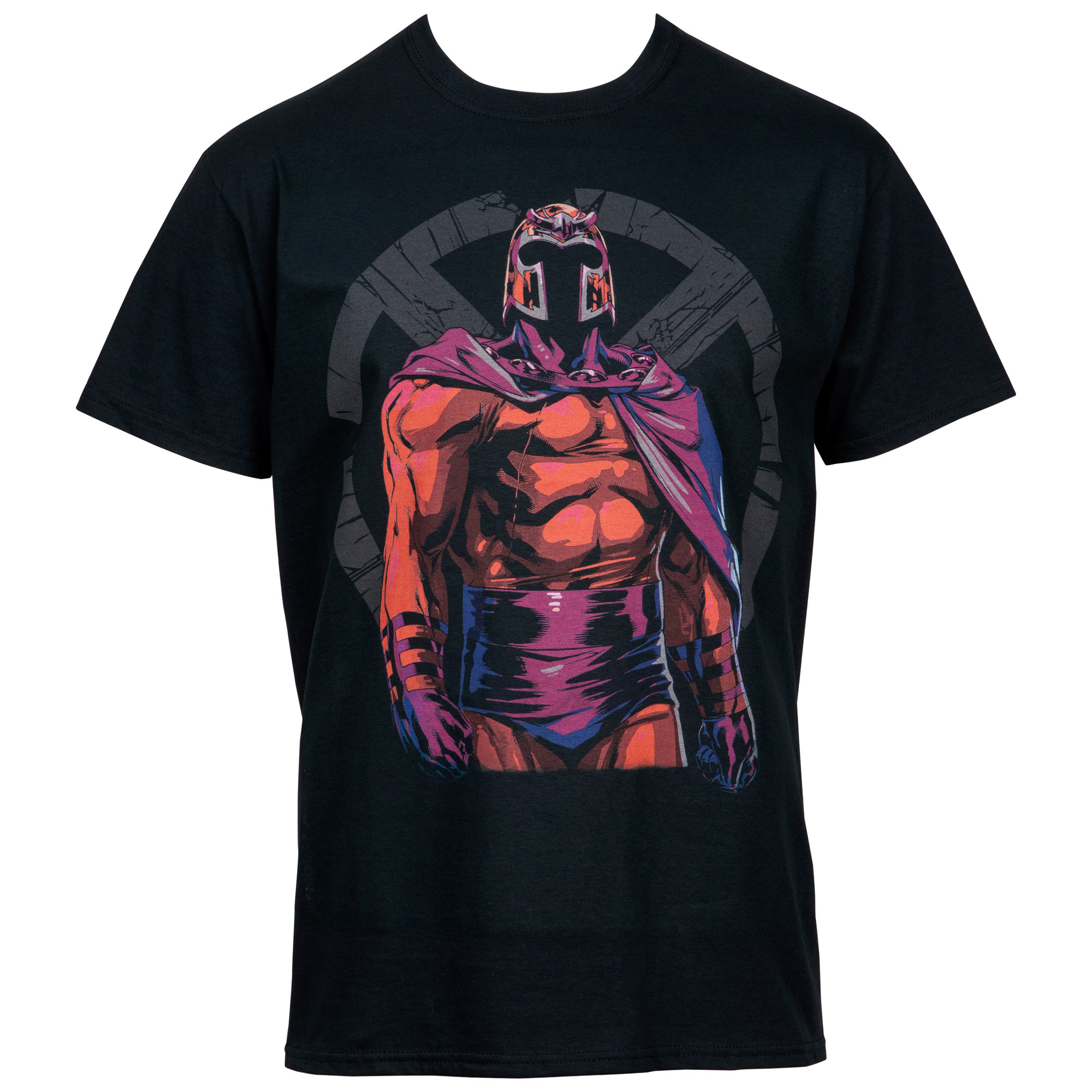 Magneto Shattered X-Men Symbol T-Shirt
