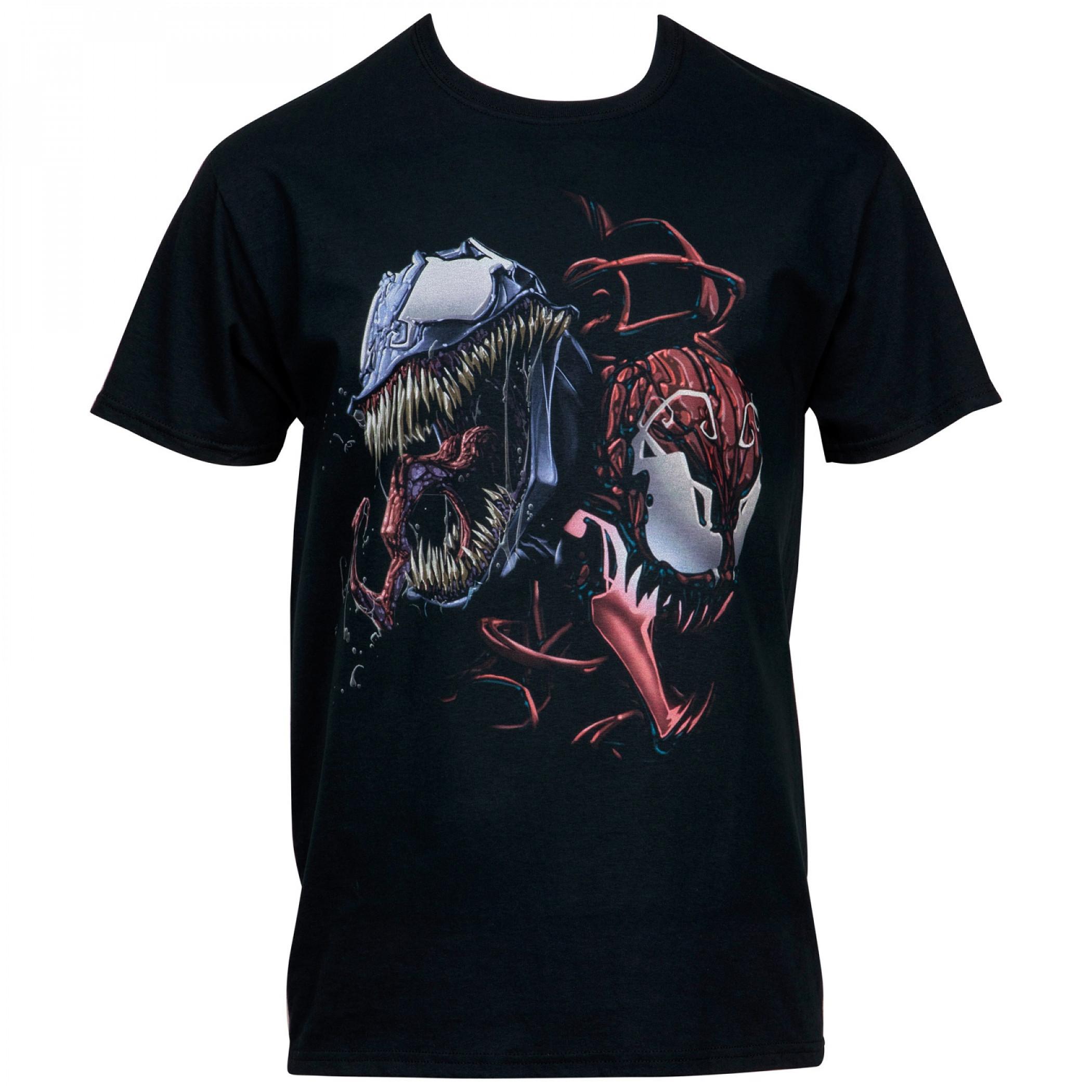 Venom and Carnage Together Forever T-Shirt