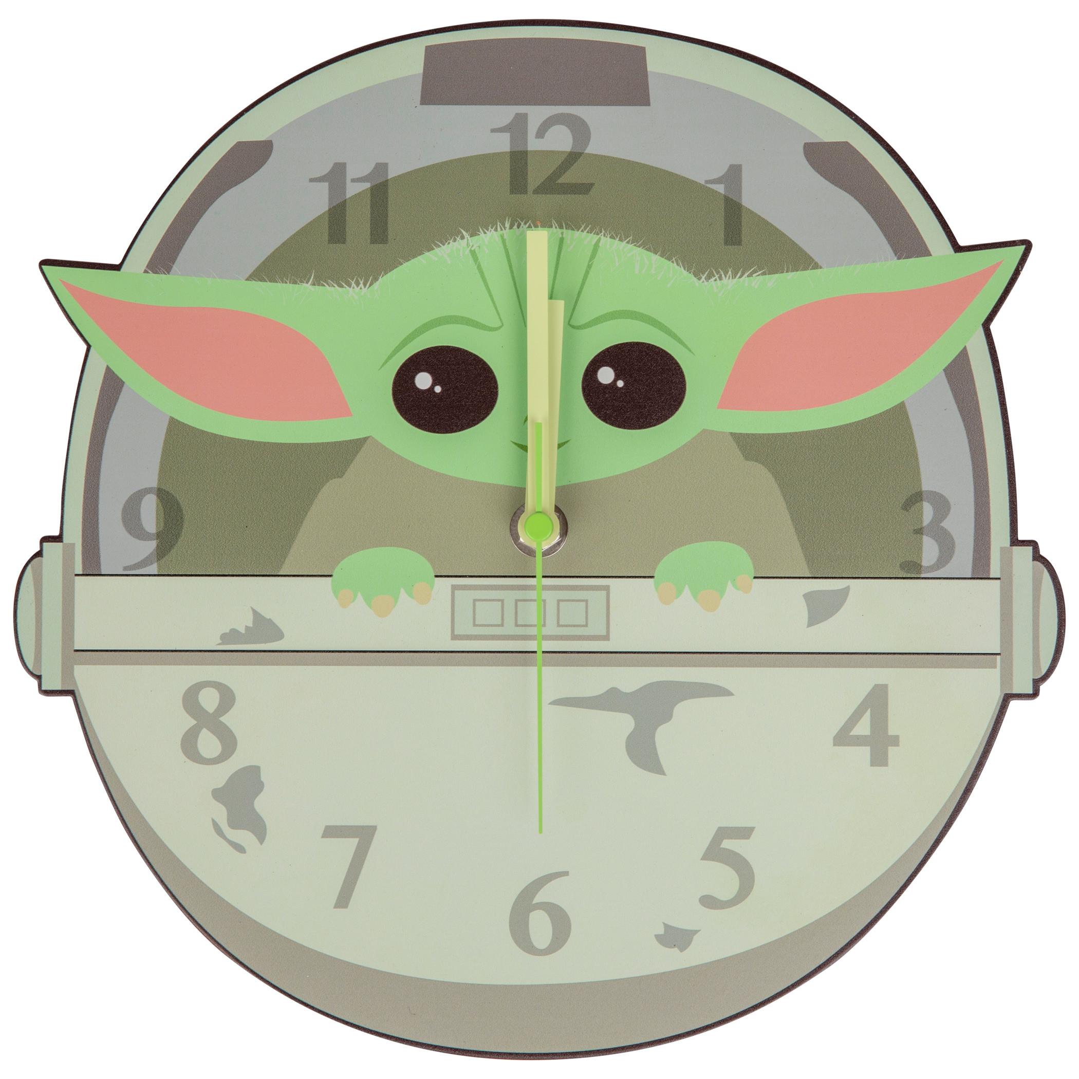 Star Wars The Mandalorian The Child Pod Clock
