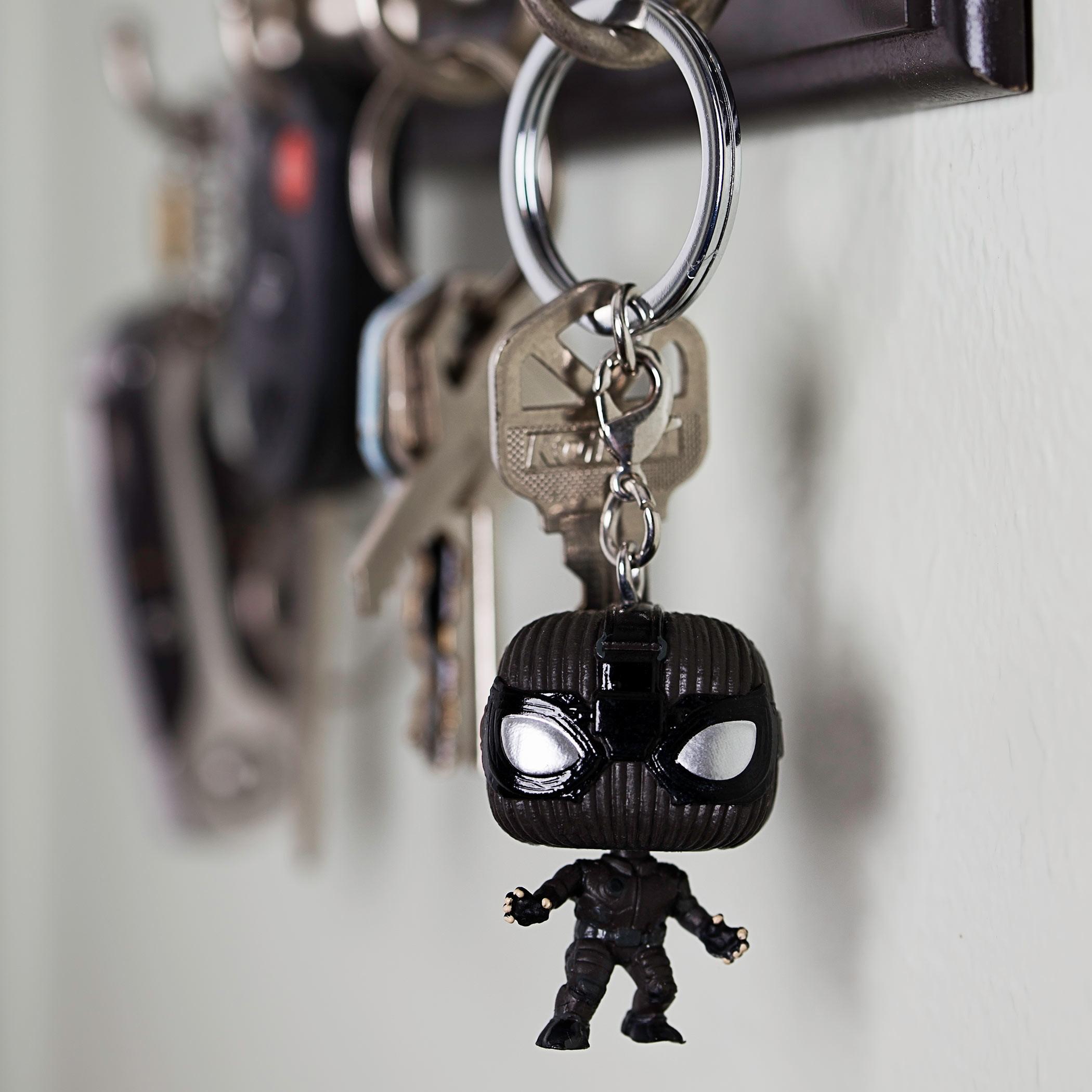 Pop! Keychain: Spider-Man: Far From Home - Spider-Man (Stealth Suit)