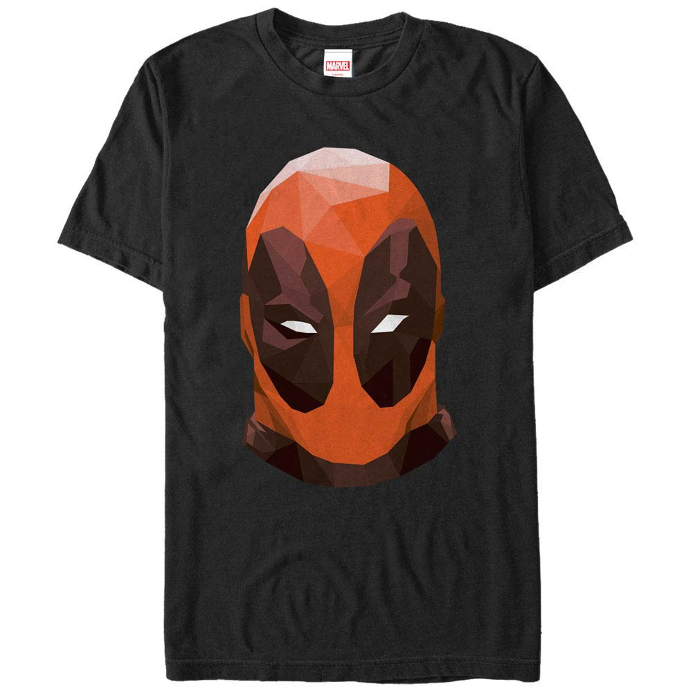 Deadpool PolyBlack Mens T-Shirt