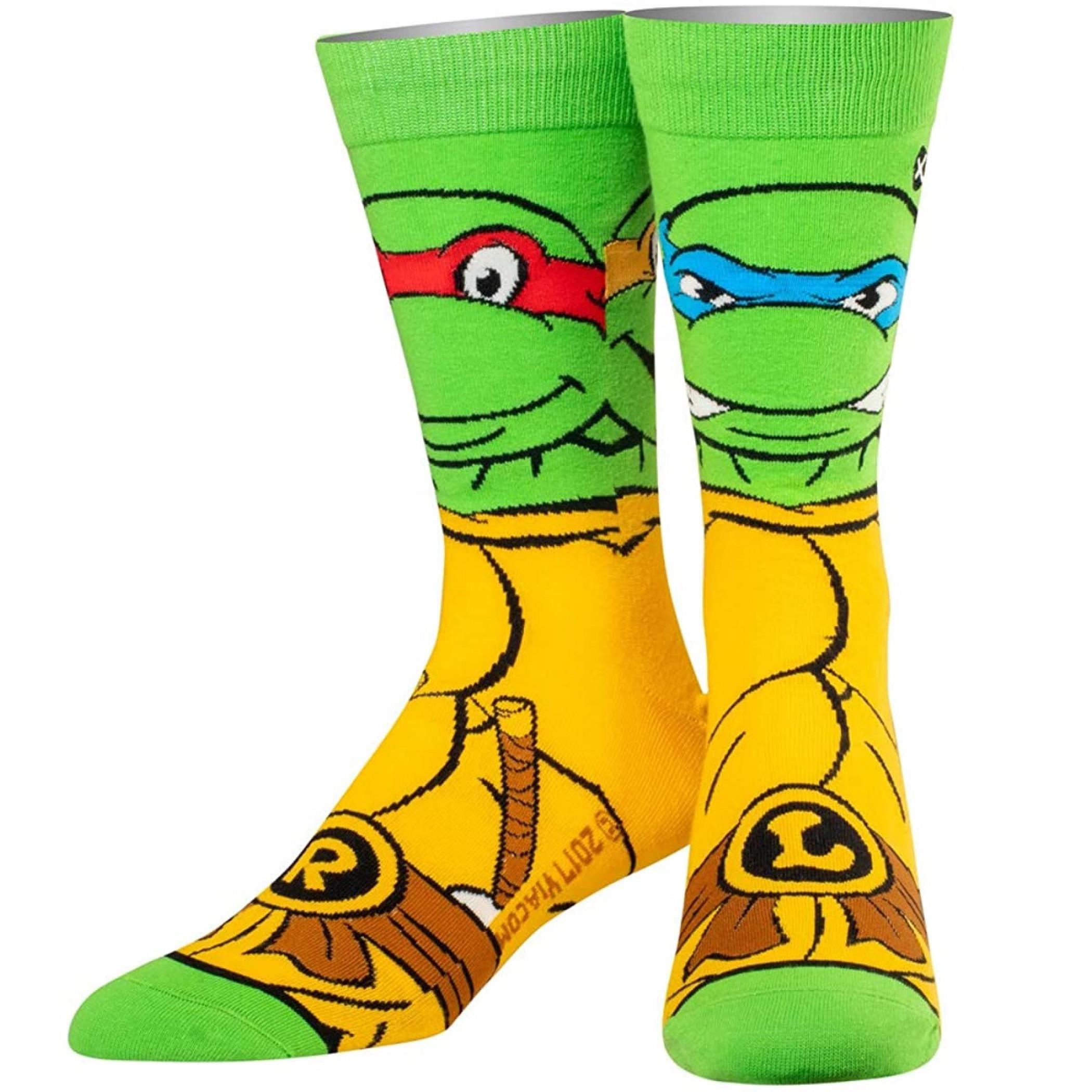 Teenage Mutant Ninja Turtle Retro Turtle Crew Socks