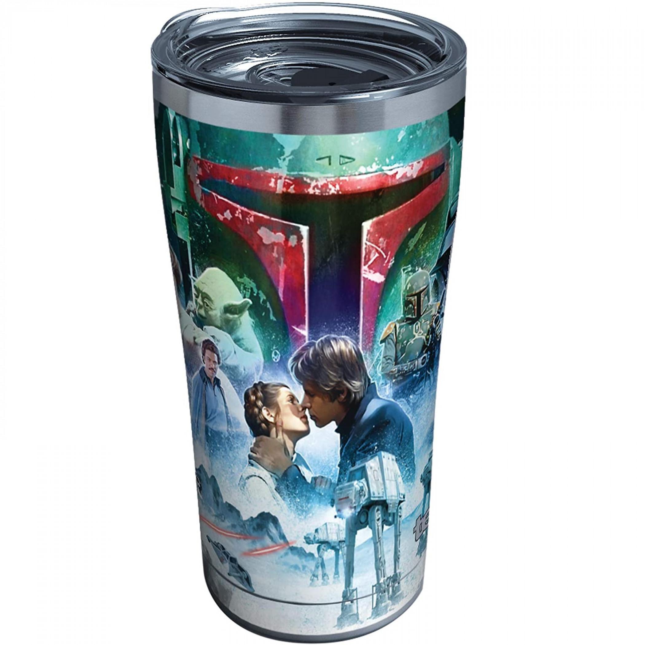 Star Wars Empire Strikes Back 40th Anniversary Collage 20 oz Tumbler